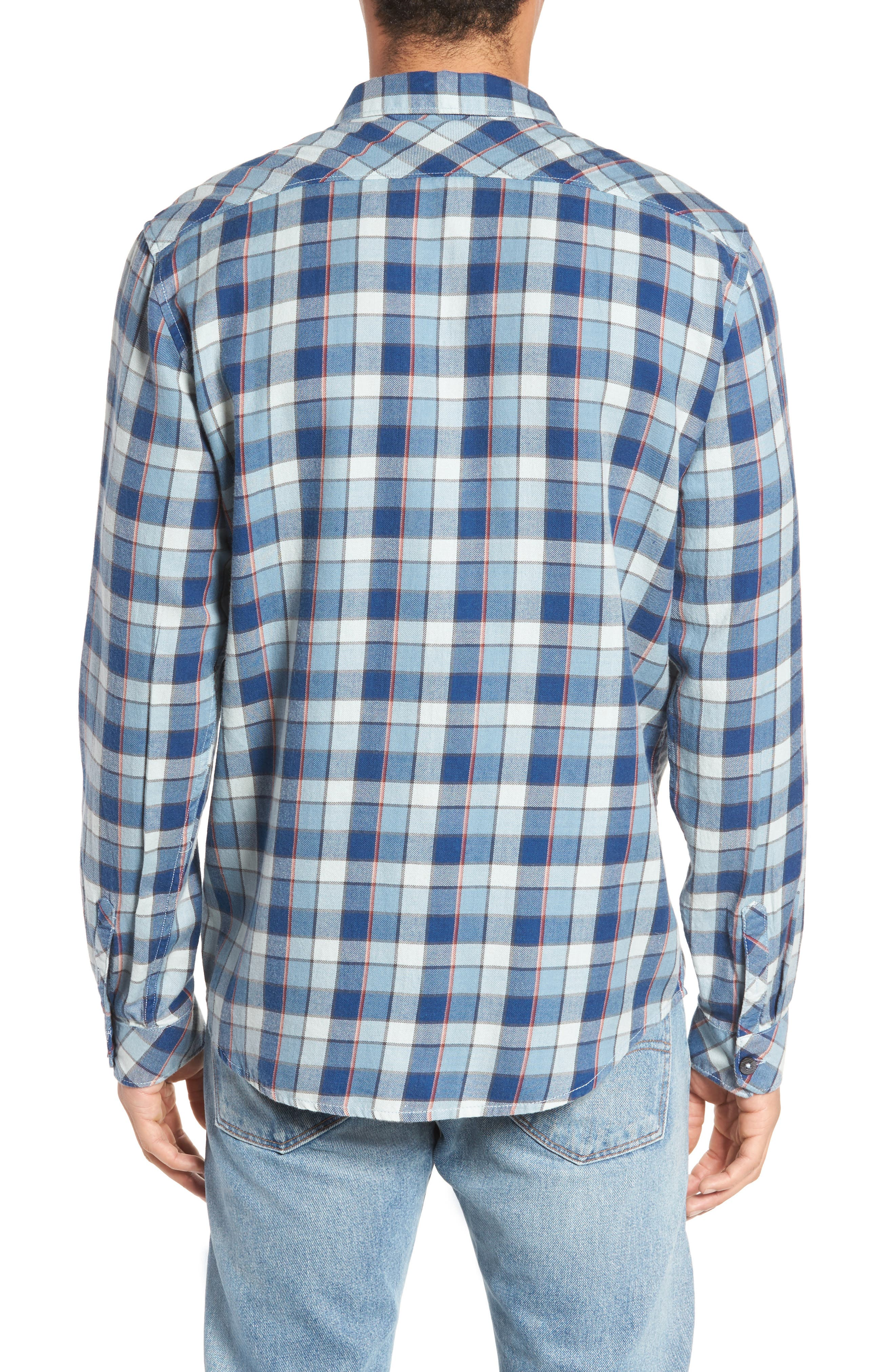 Bilabong Freemont Flannel Shirt,                             Alternate thumbnail 2, color,                             428