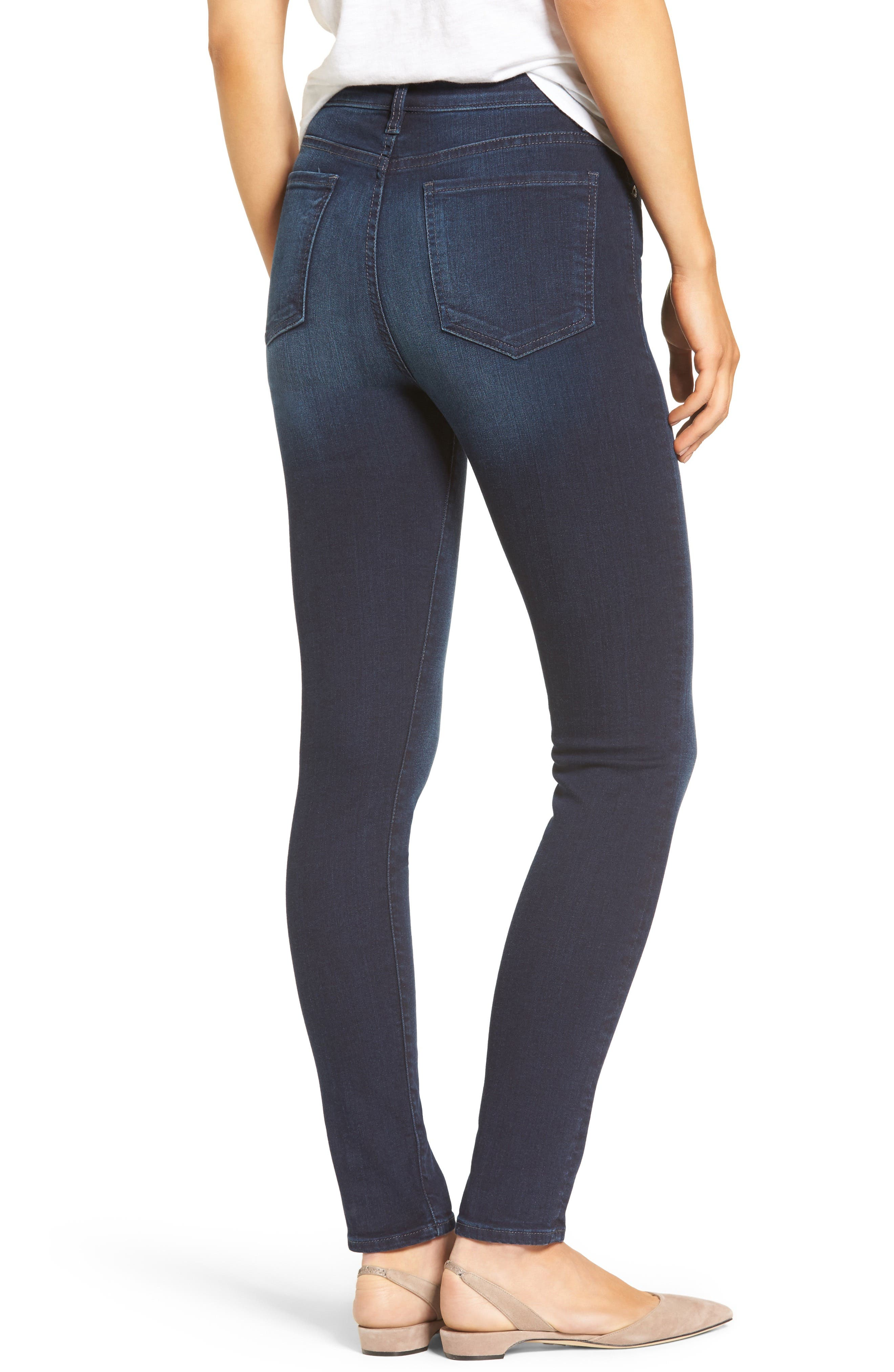 Mia High Waist Skinny Jeans,                             Alternate thumbnail 2, color,