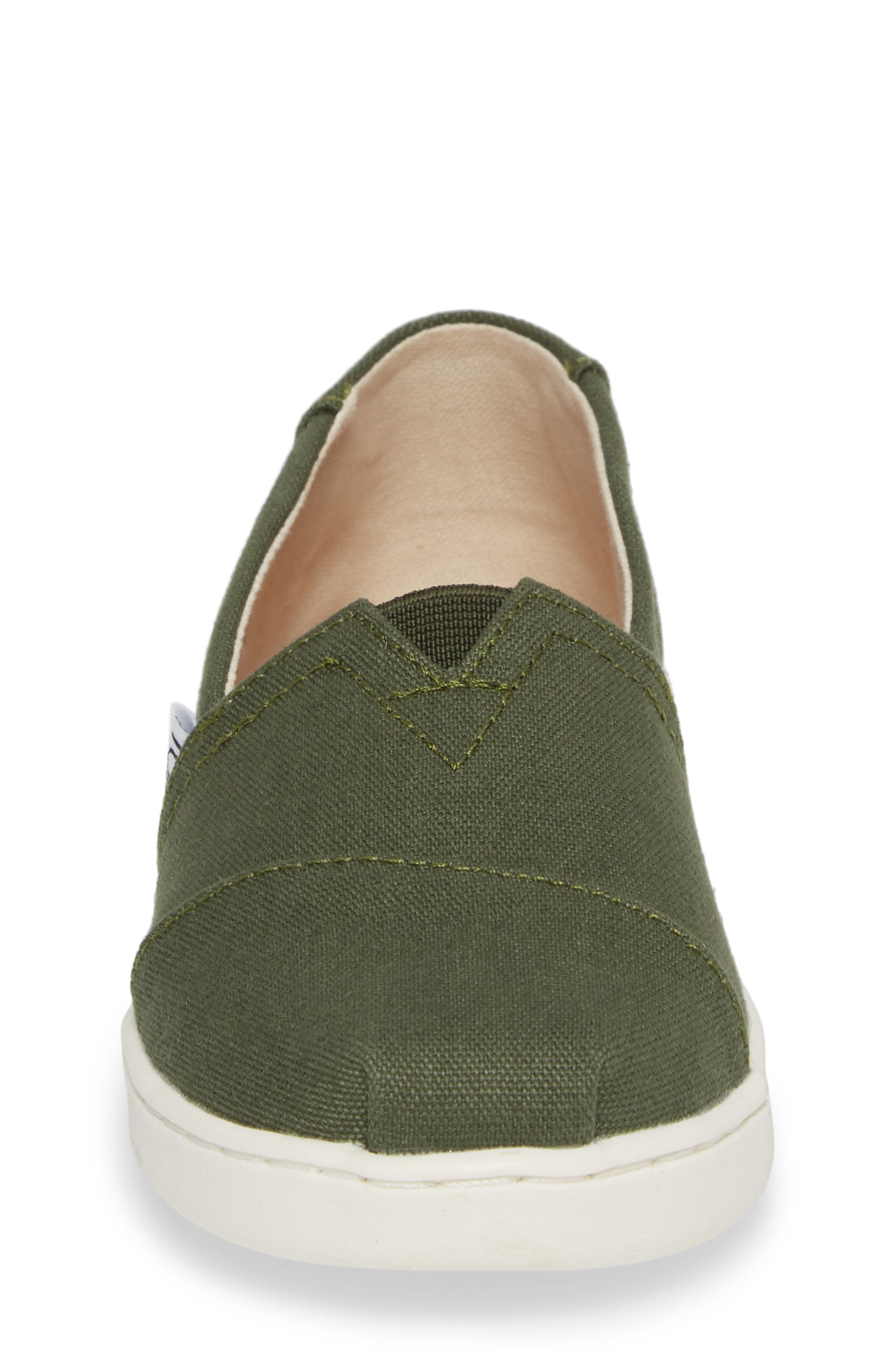 Heritage Canvas Slip-On,                             Alternate thumbnail 4, color,                             310