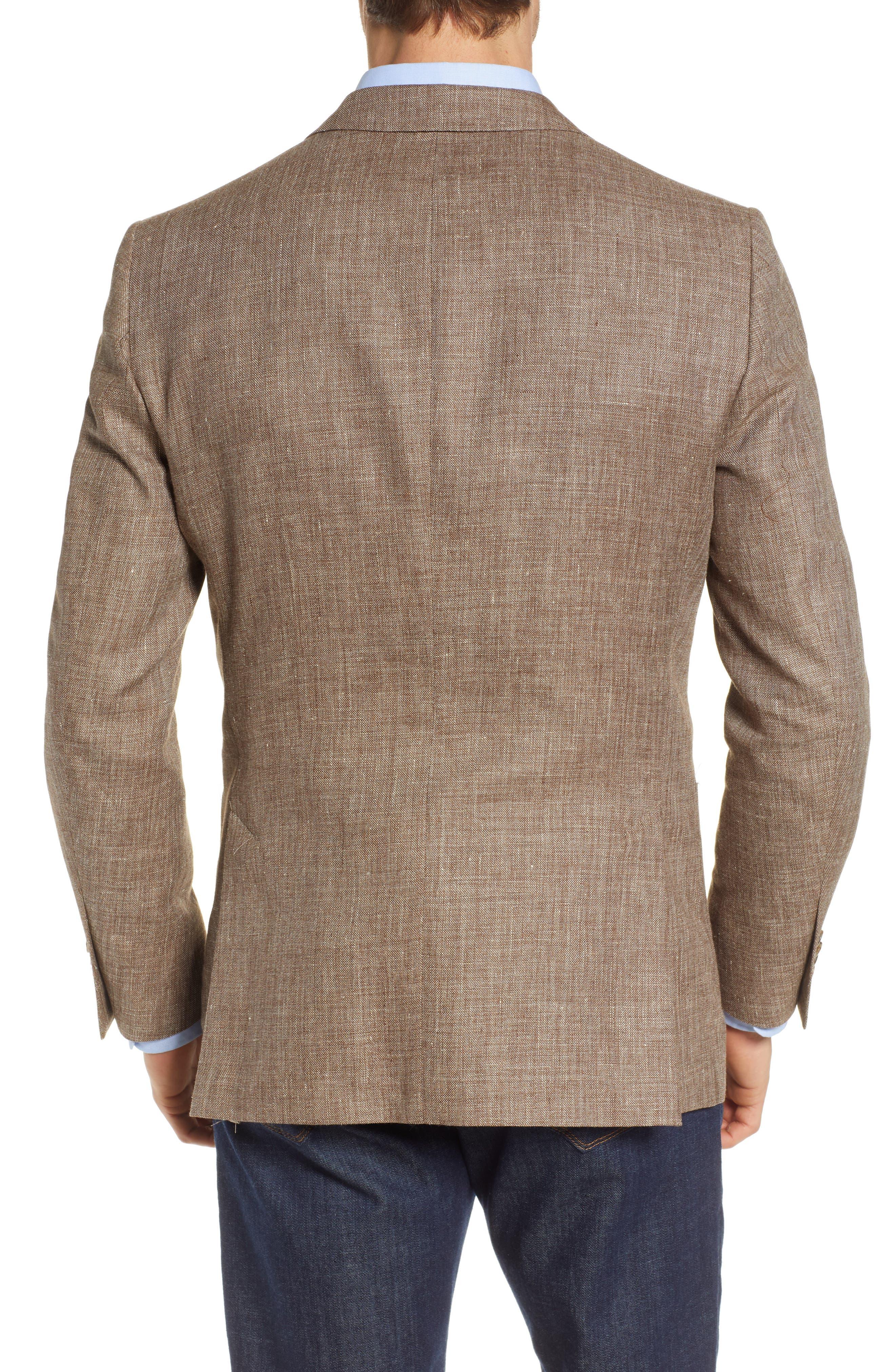 PETER MILLAR,                             Hyperlight Classic Fit Sport Coat,                             Alternate thumbnail 2, color,                             TAN