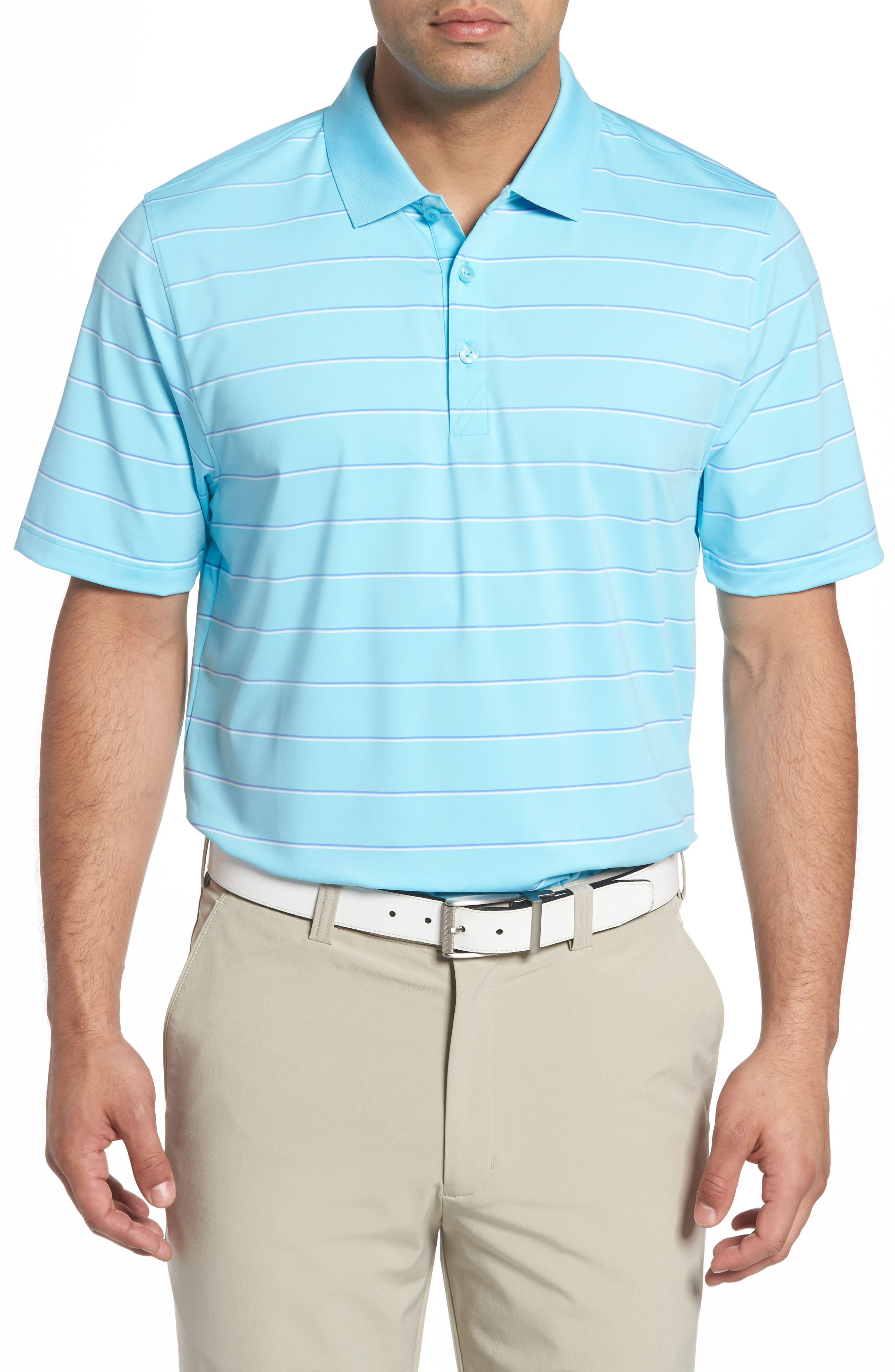 Friday Harbor Stripe Polo,                         Main,                         color, 449