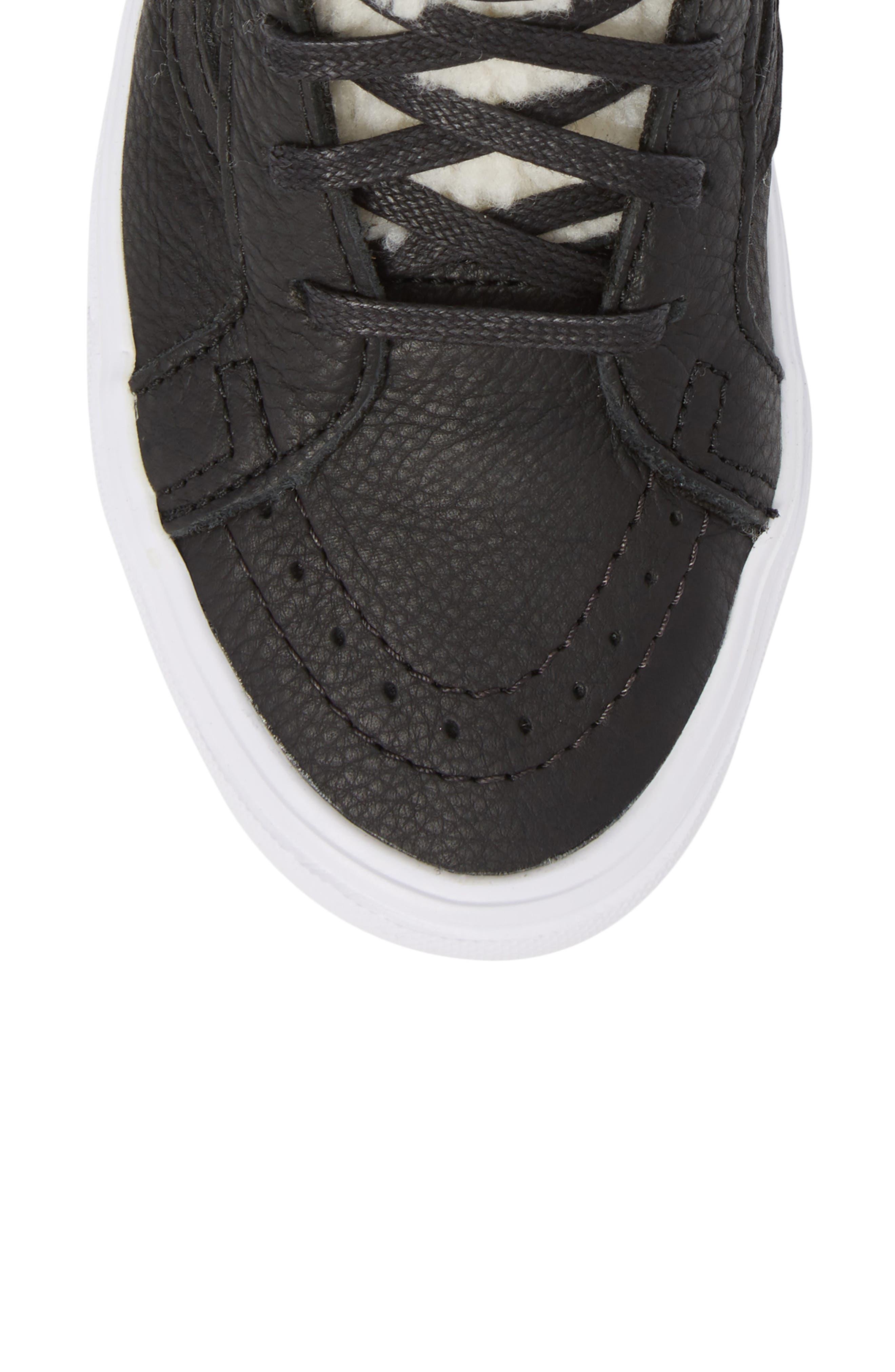 Sk8-Hi Reissue Lite High Top Sneaker,                             Alternate thumbnail 5, color,                             001