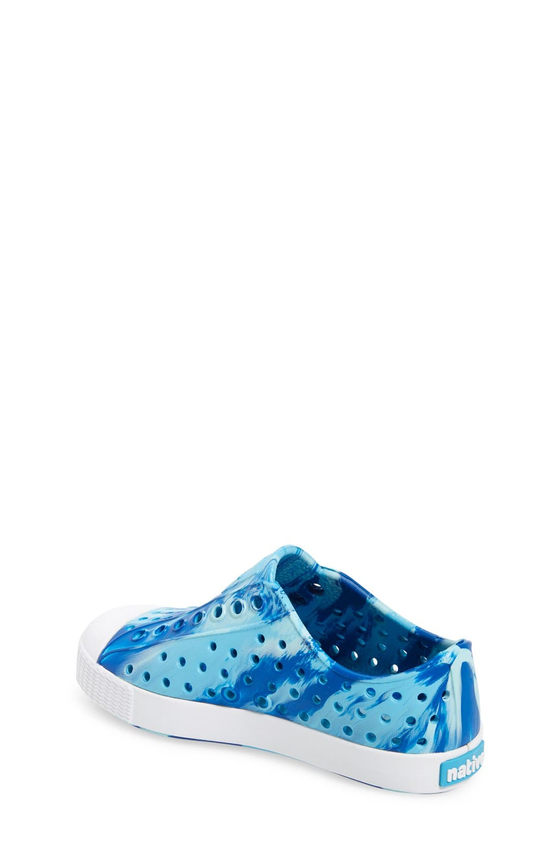Jefferson - Marbled Perforated Slip-On,                             Alternate thumbnail 123, color,