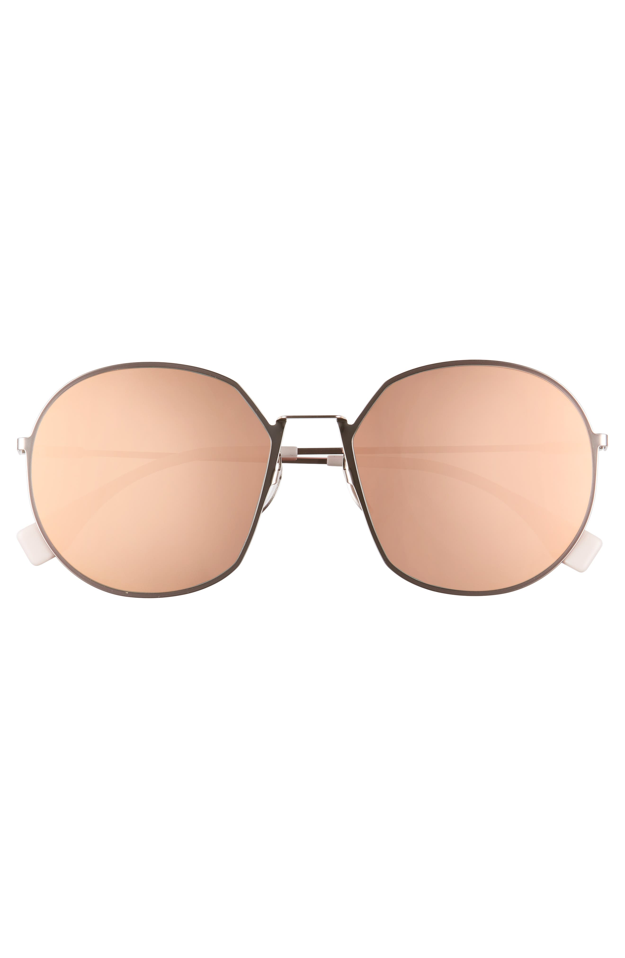 59mm Round Special Fit Sunglasses,                             Alternate thumbnail 11, color,