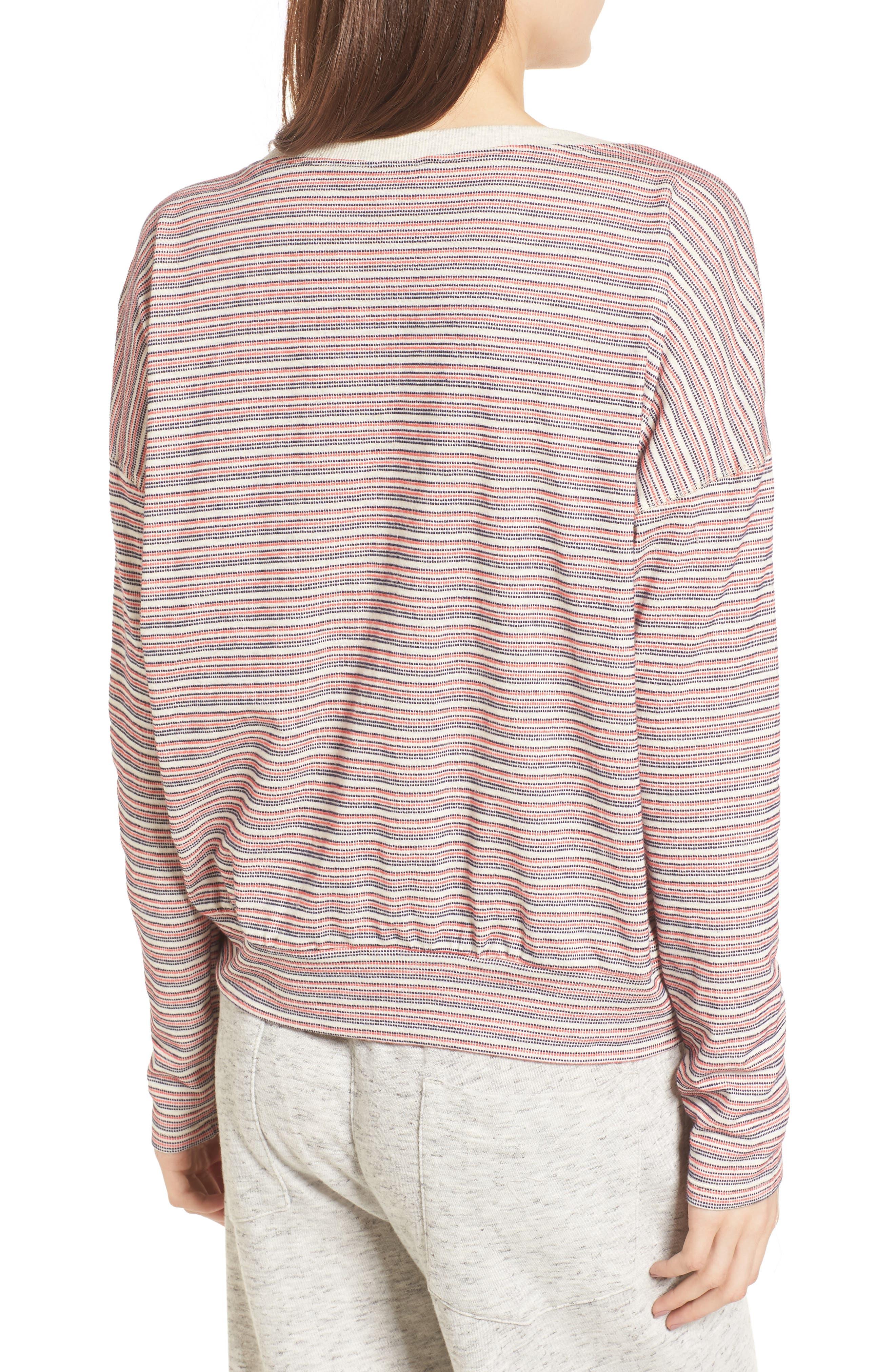 Stripe Pullover,                             Alternate thumbnail 2, color,