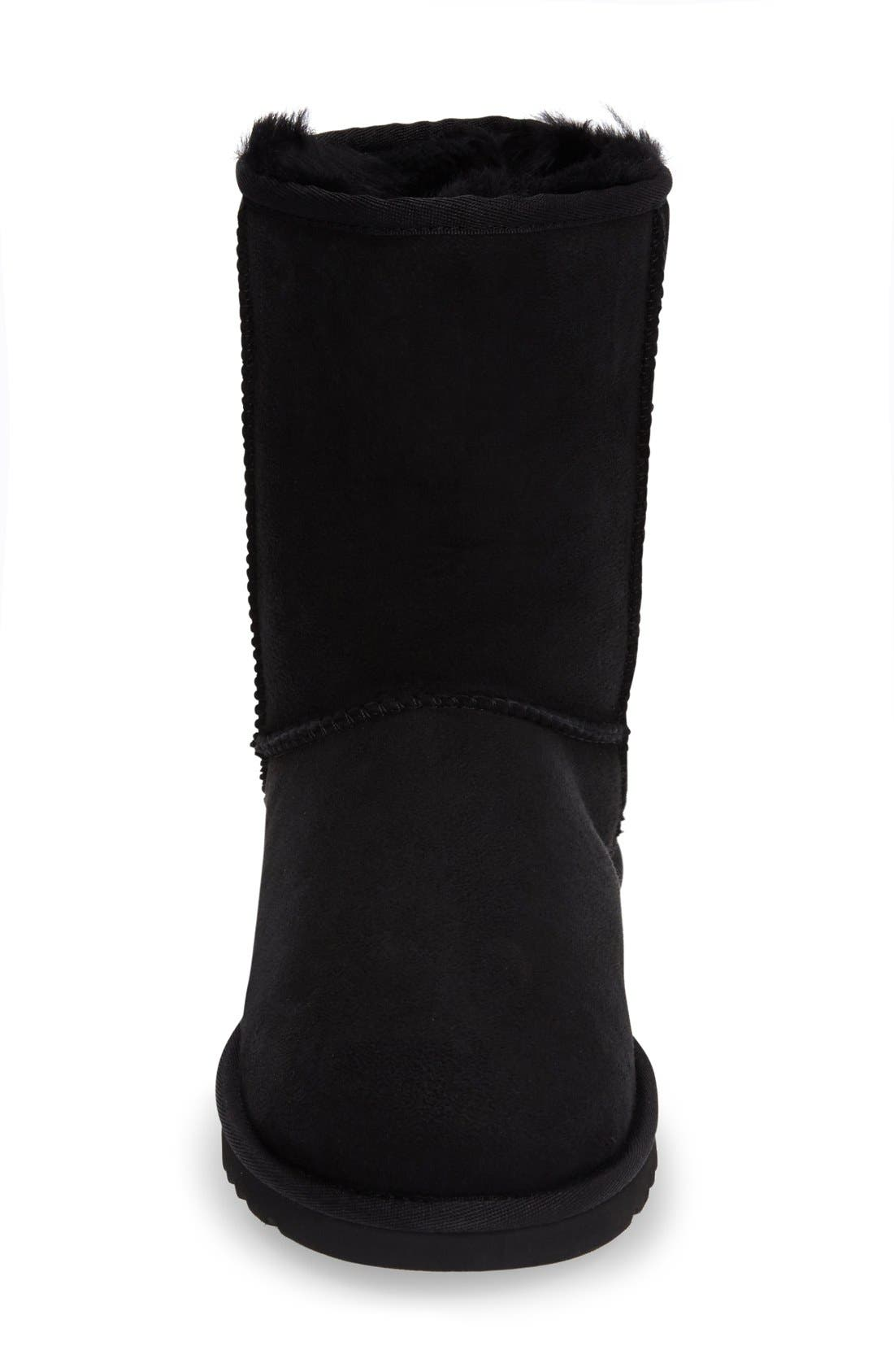 Classic Short Boot,                             Alternate thumbnail 2, color,                             BLACK