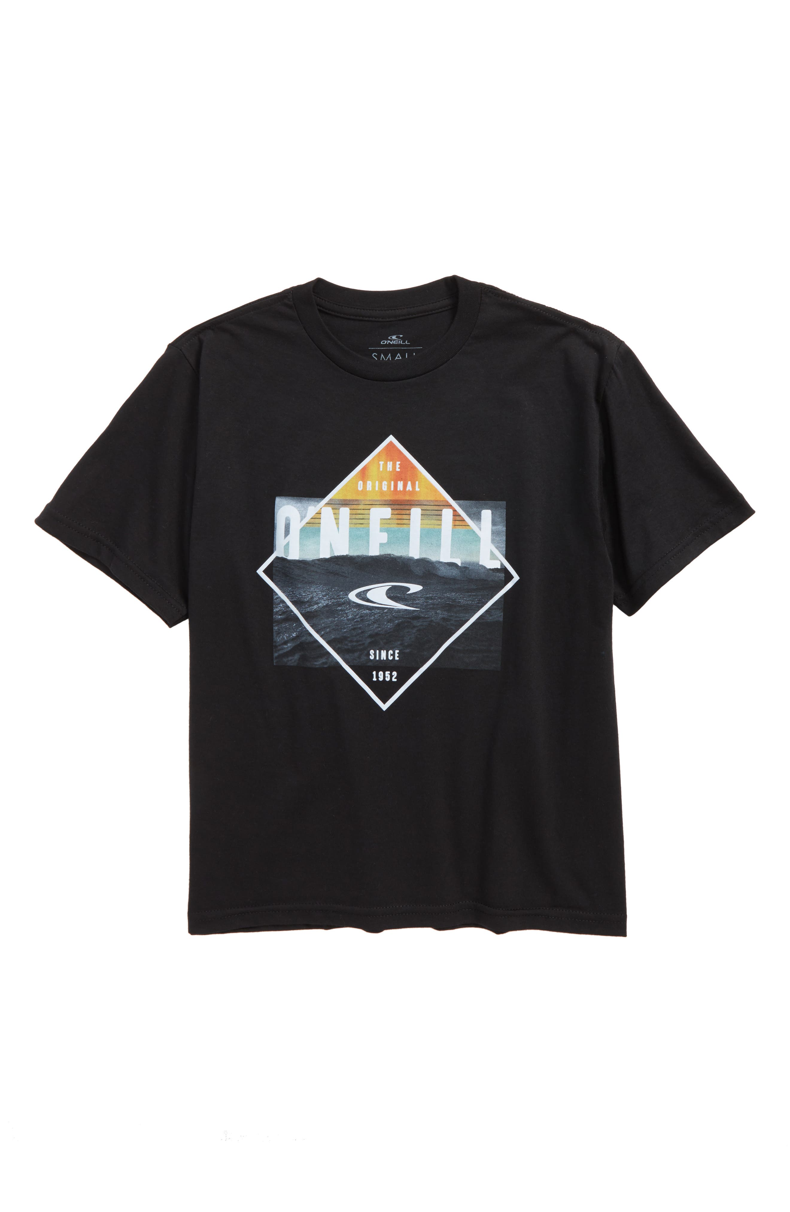 Black Pool Logo T-Shirt,                         Main,                         color, 001