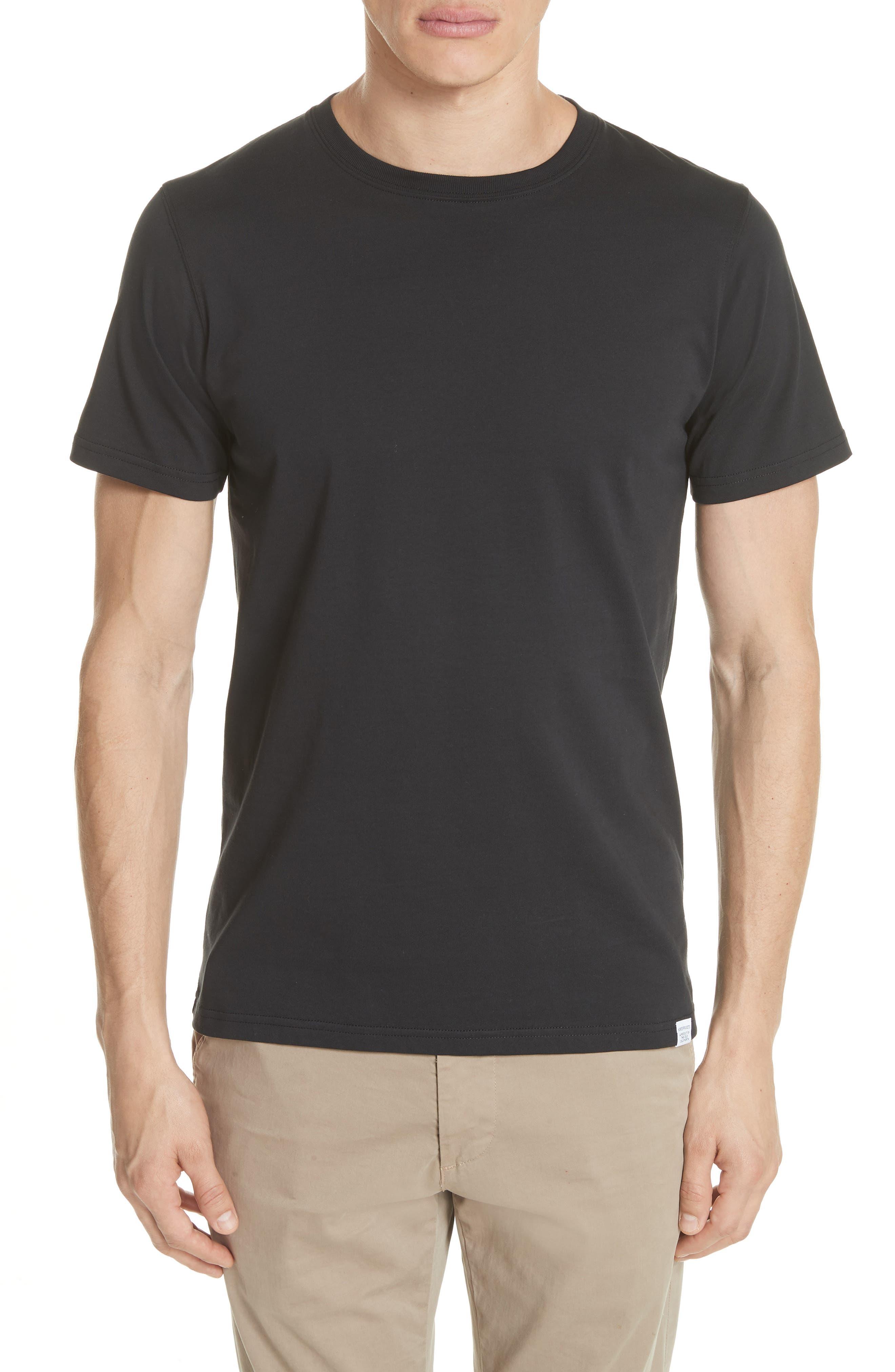 Niels Crewneck T-Shirt,                         Main,                         color, 001