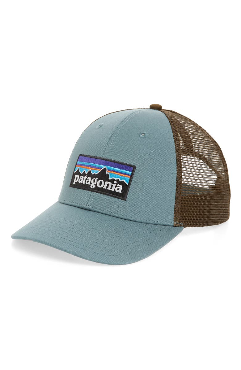 Patagonia  Pg - Lo Pro  Trucker Hat - White In White  Kastanos Brown ... b9486f30cfbe