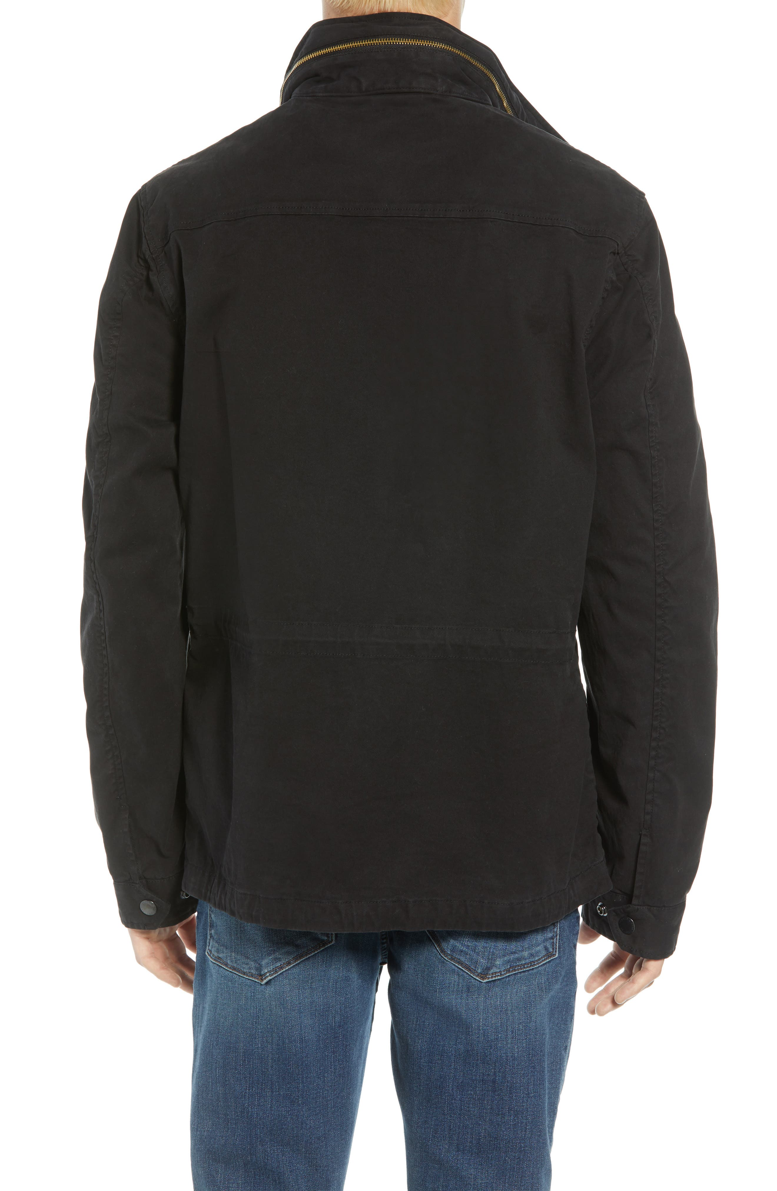 Garment Dyed Field Jacket,                             Alternate thumbnail 2, color,                             001