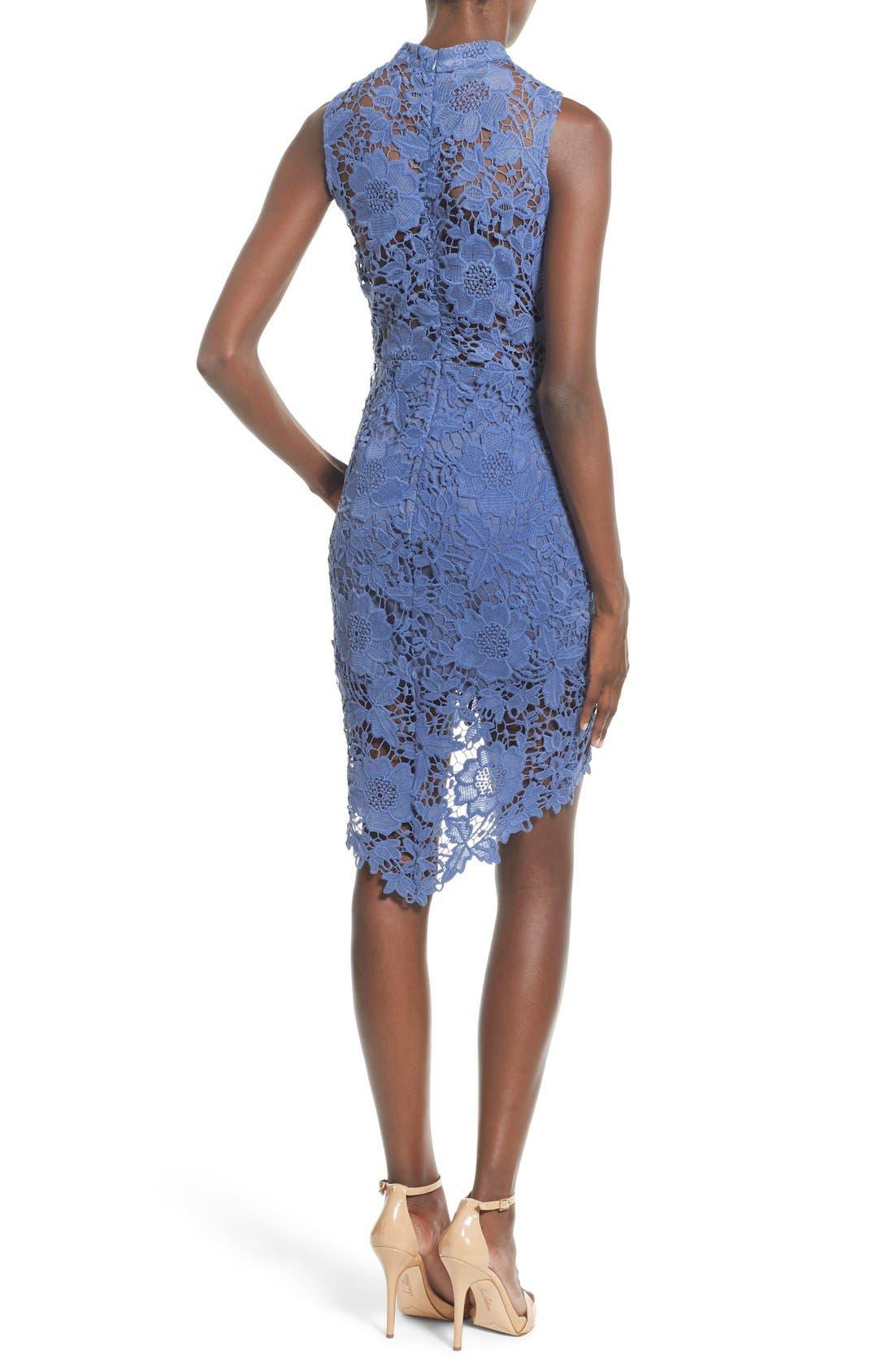 'Samantha' Lace Dress,                             Alternate thumbnail 18, color,