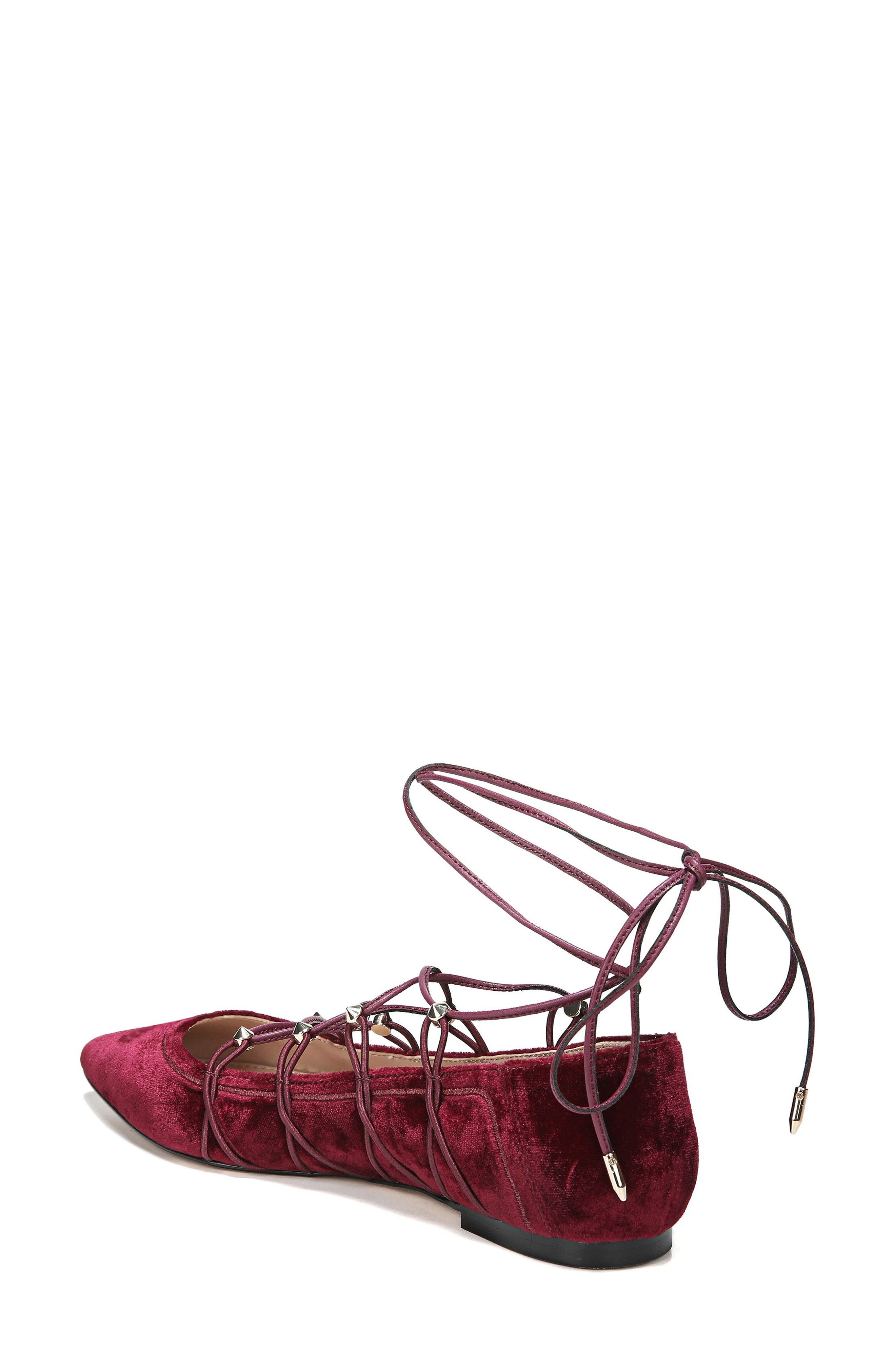 Rockwell Ghillie Pointy Toe Flat,                             Alternate thumbnail 4, color,
