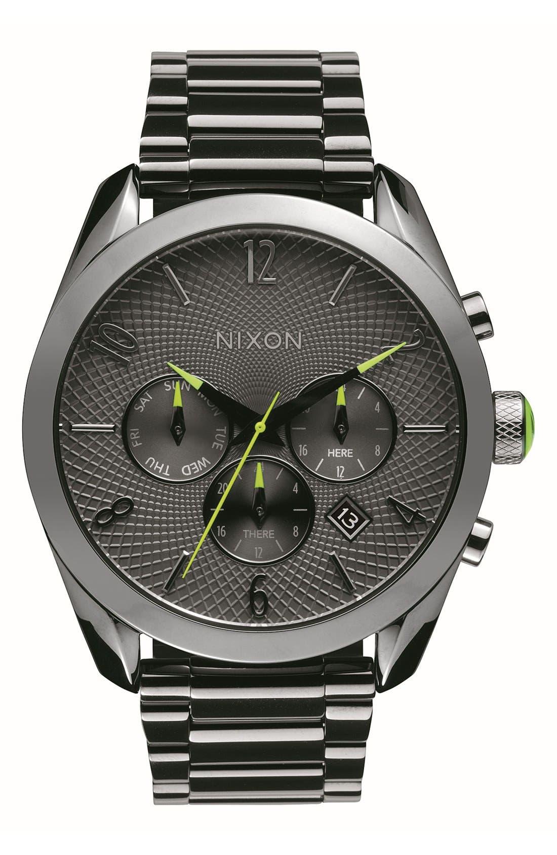 'Bullet' Guilloche Chronograph Bracelet Watch, 42mm,                             Main thumbnail 2, color,