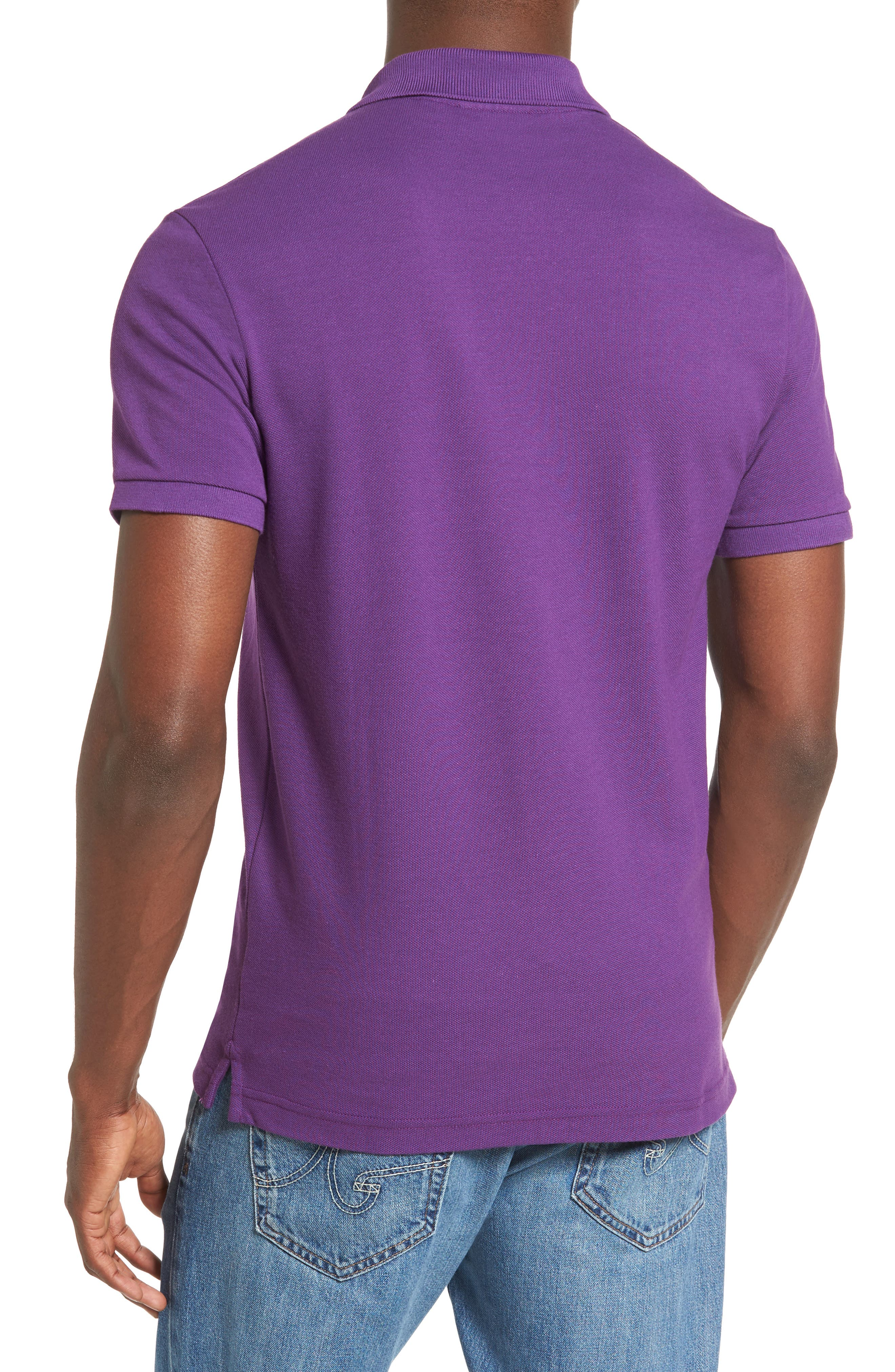 Slim Fit Piqué Polo,                             Alternate thumbnail 20, color,