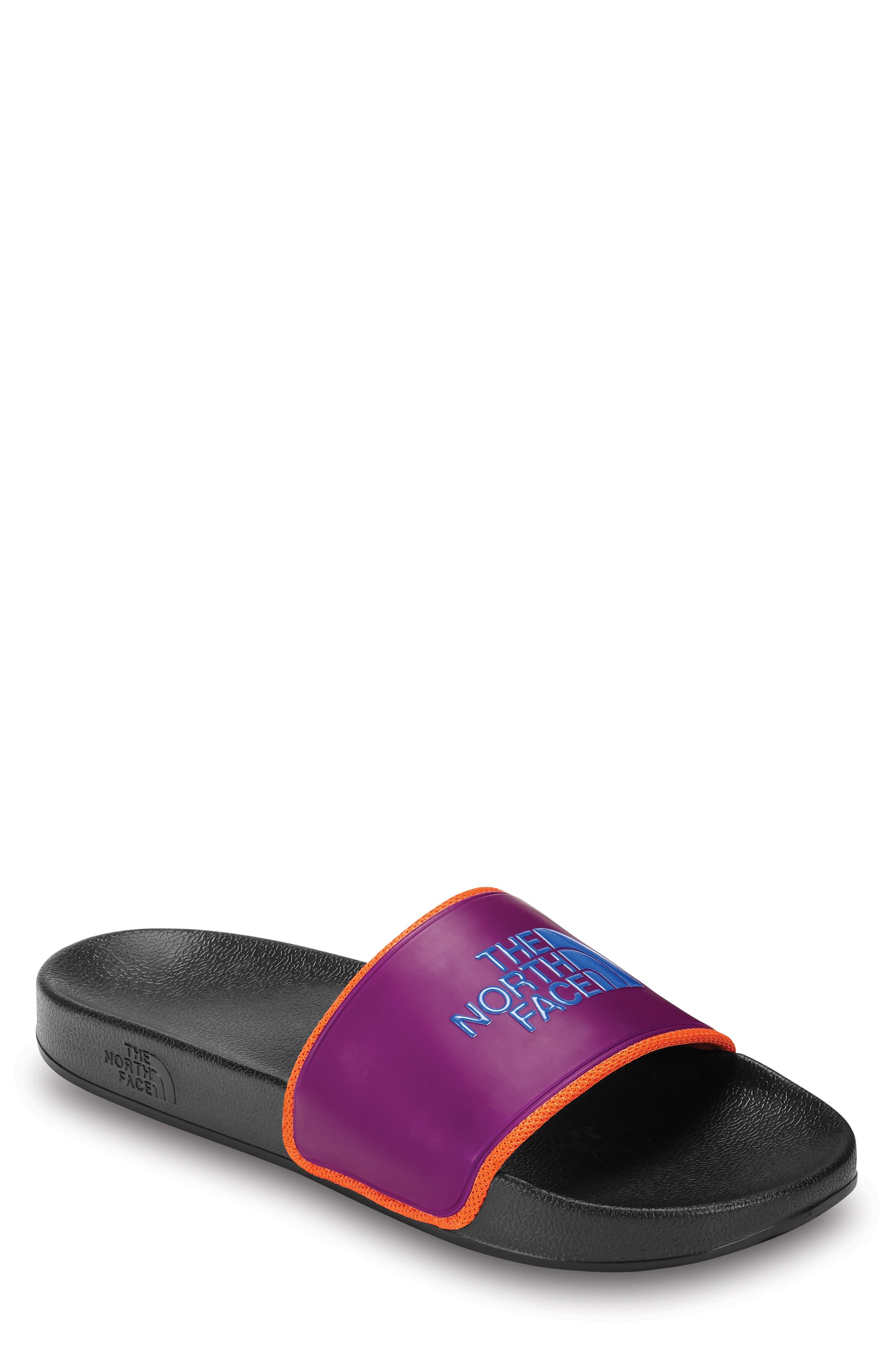 Base Camp II Slide Sandal,                             Alternate thumbnail 2, color,                             TNF BLACK/ AZTEC BLUE