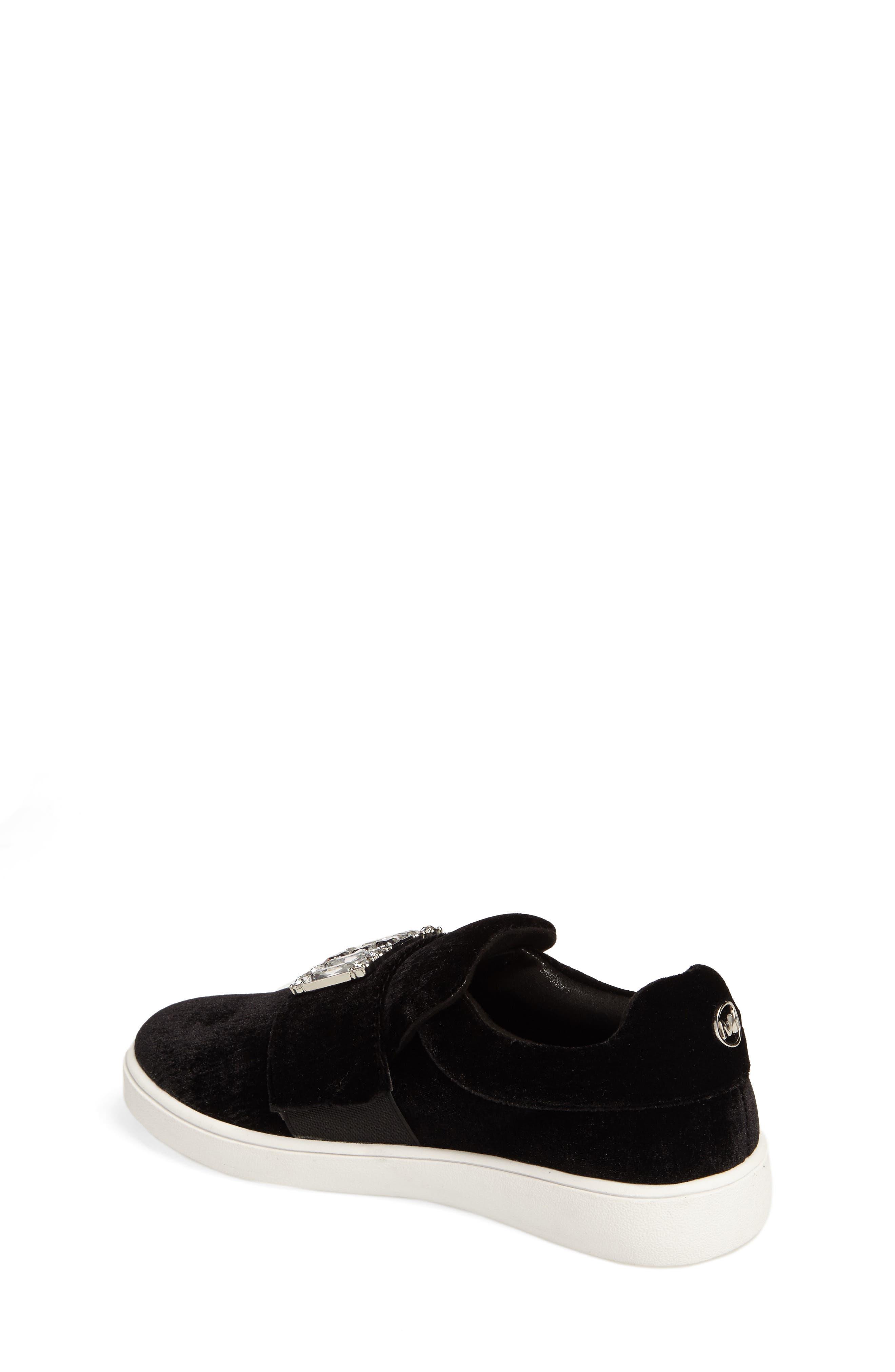 Ivy Dream Embellished Slip-On Sneaker,                             Alternate thumbnail 2, color,                             001