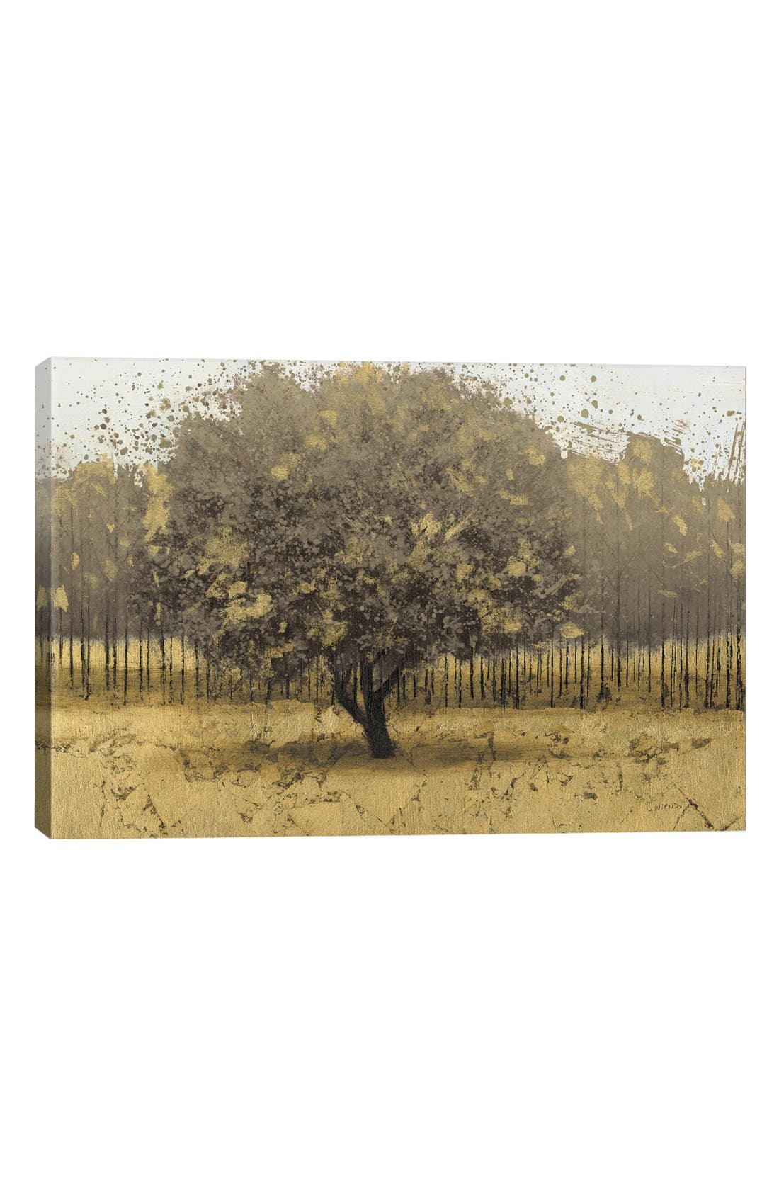 'Golden Trees I' Giclée Print Canvas Art,                             Main thumbnail 1, color,