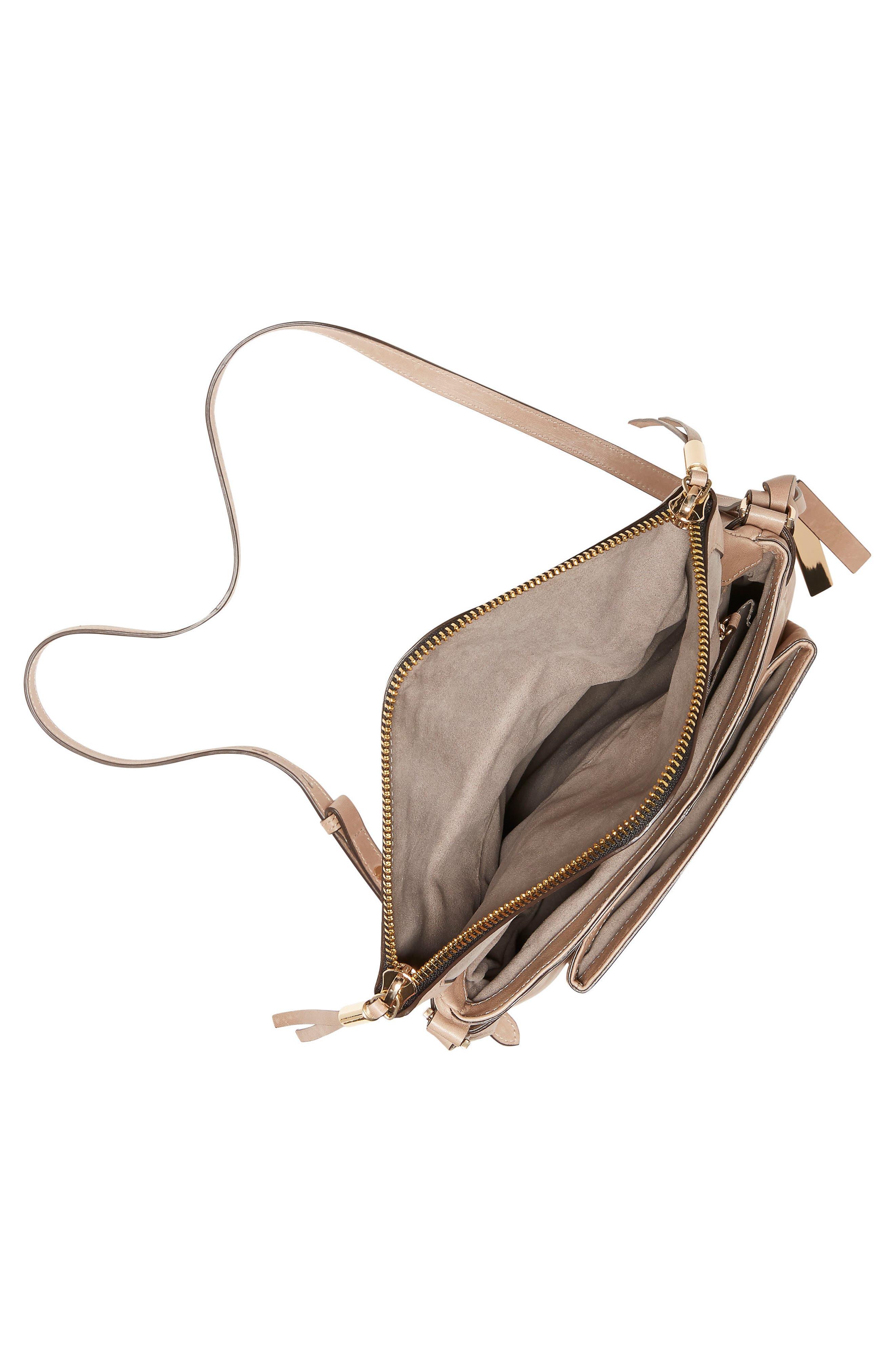 Alder Leather Crossbody Bag,                             Alternate thumbnail 9, color,