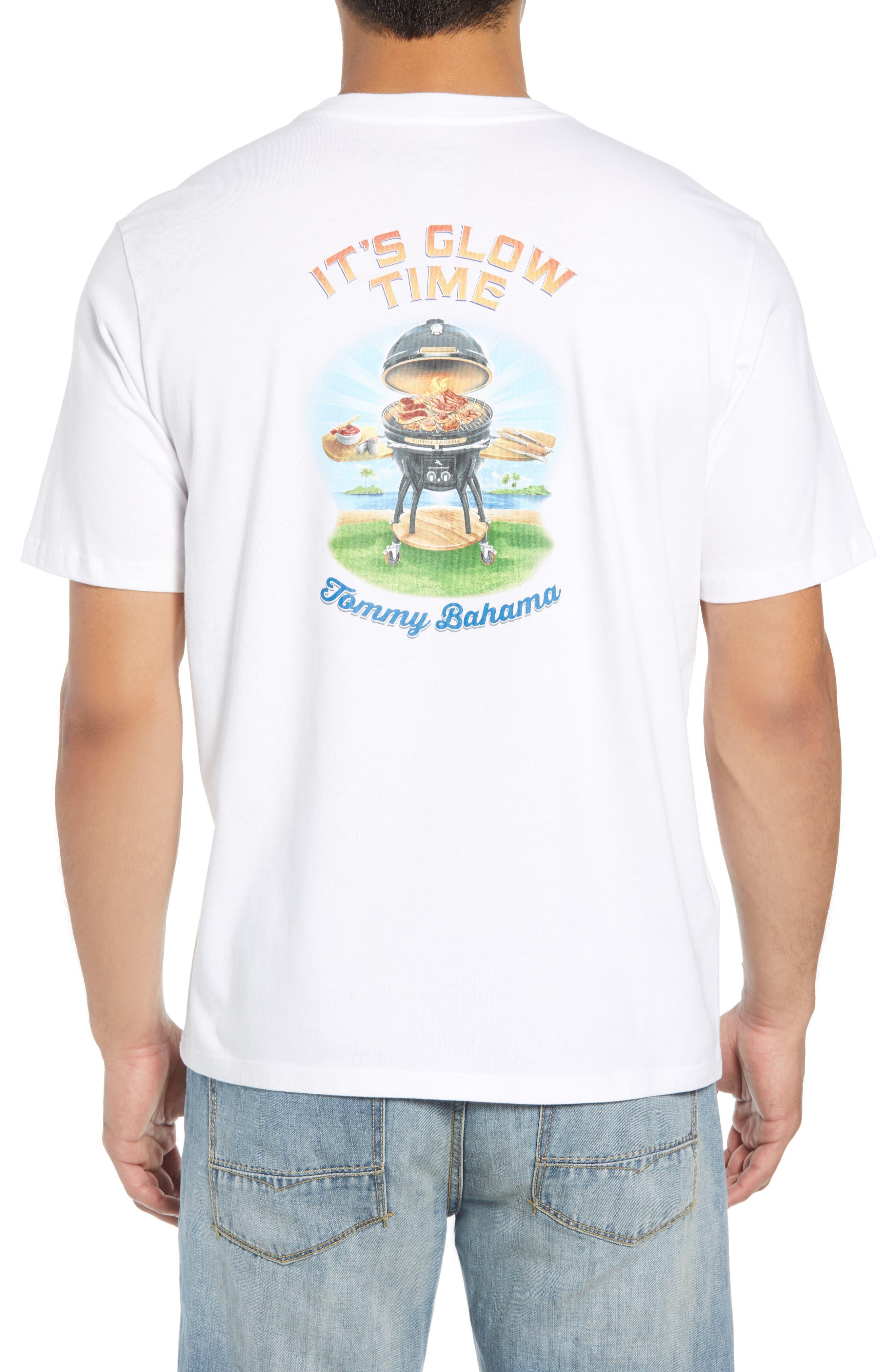 It's Glow Time T-Shirt,                             Alternate thumbnail 2, color,                             WHITE