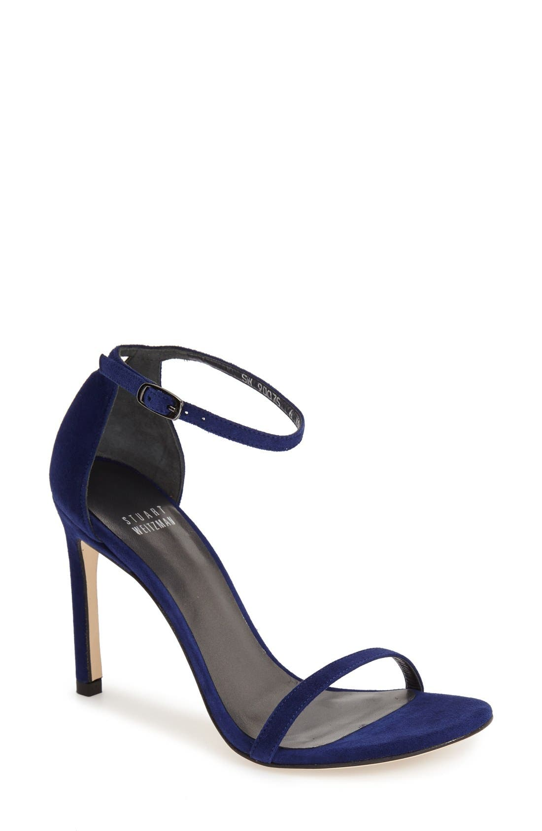 Nudistsong Ankle Strap Sandal,                             Main thumbnail 27, color,