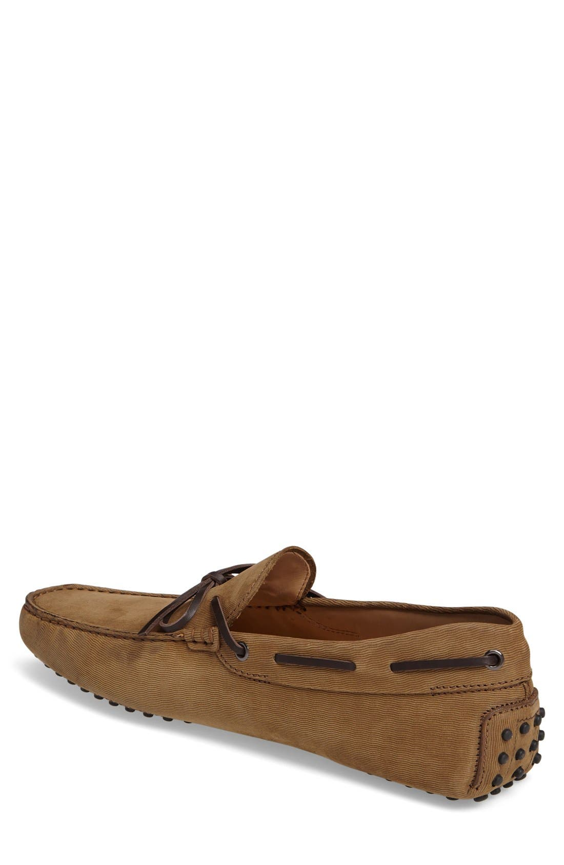 Gommini Tie Front Driving Moccasin,                             Alternate thumbnail 52, color,