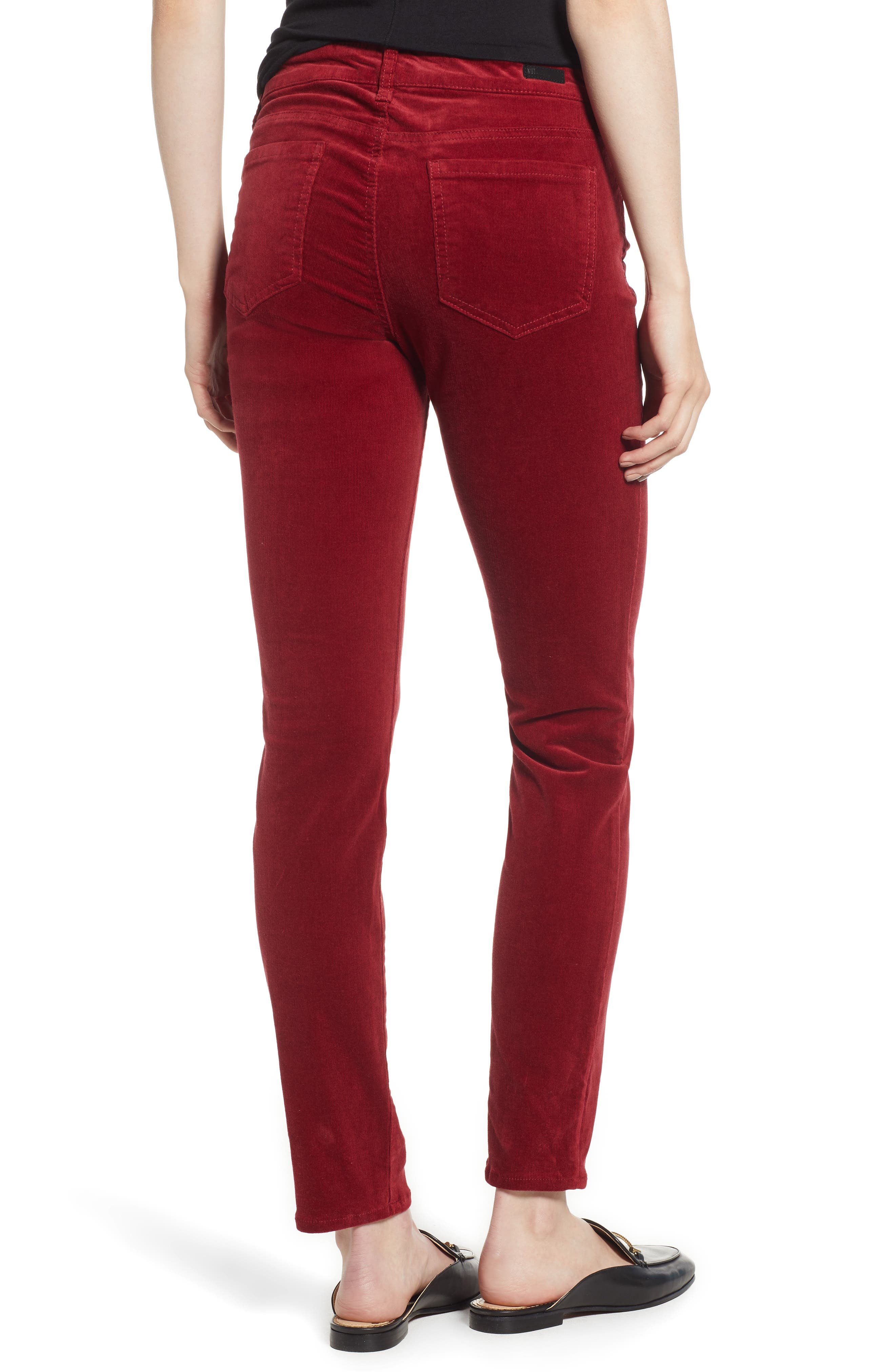 'Diana' Stretch Corduroy Skinny Pants,                             Alternate thumbnail 67, color,