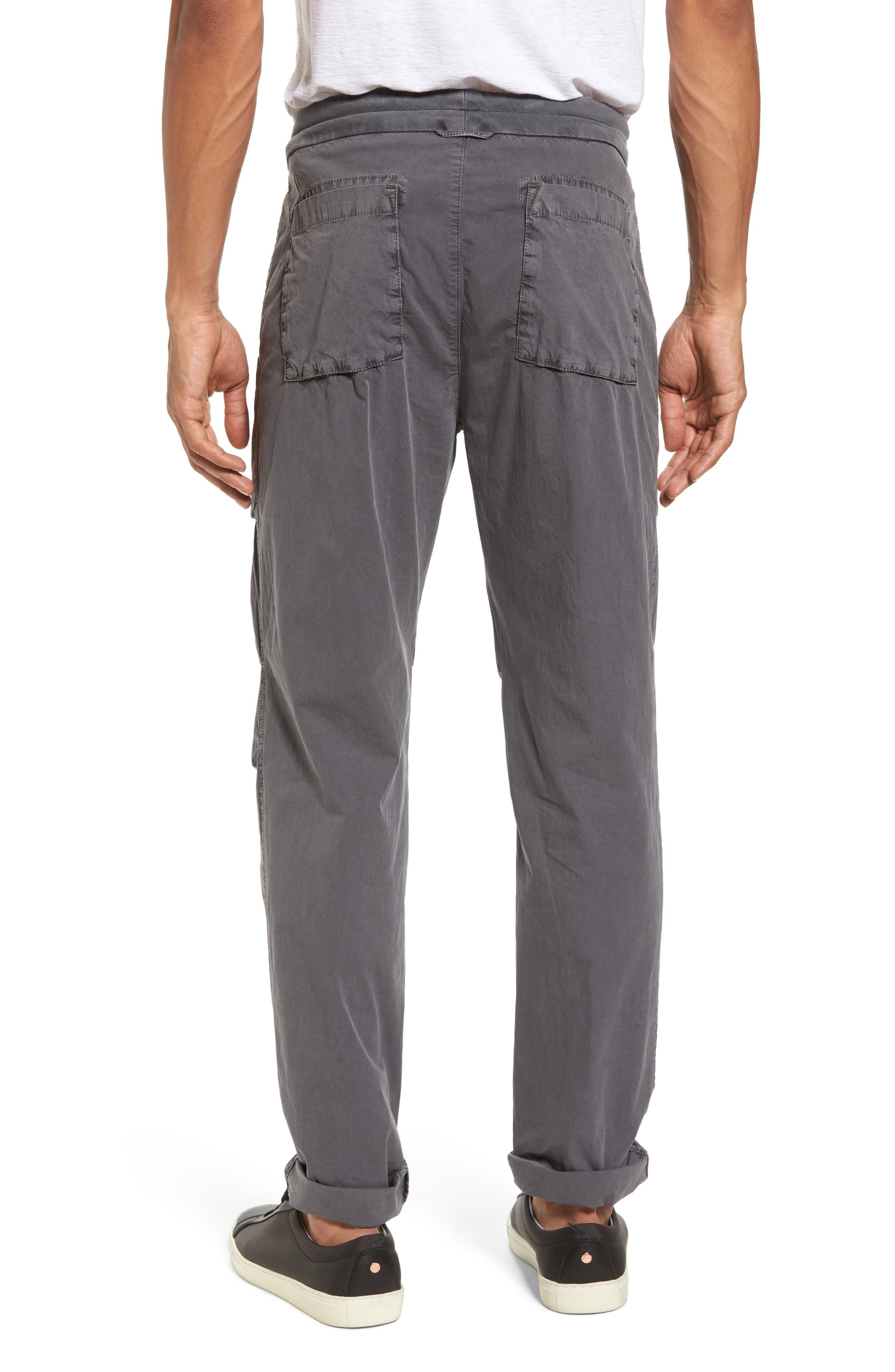Stretch Poplin Utility Pants,                             Alternate thumbnail 2, color,                             020