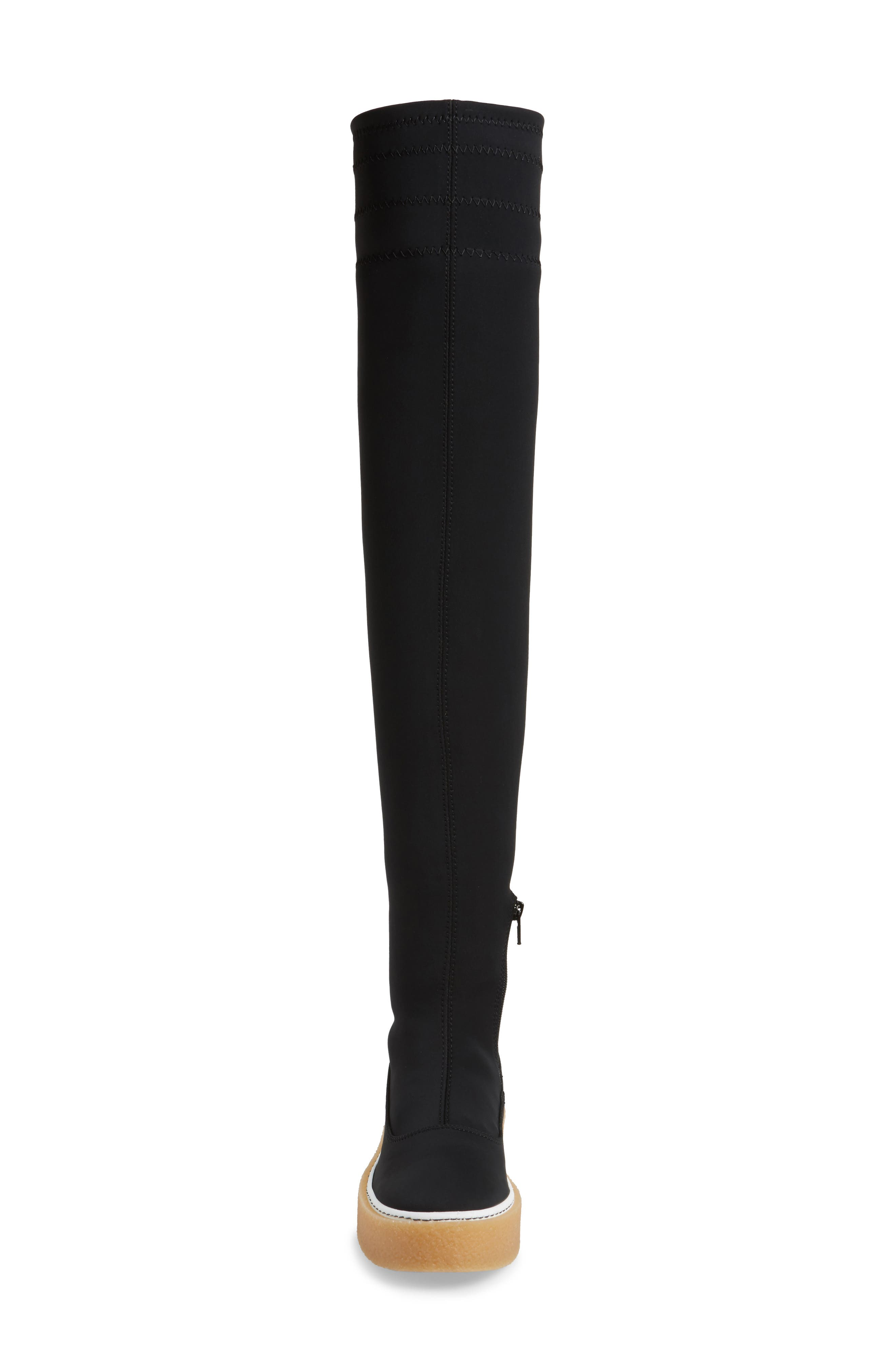 Outer Limits Thigh High Boot,                             Alternate thumbnail 4, color,                             001