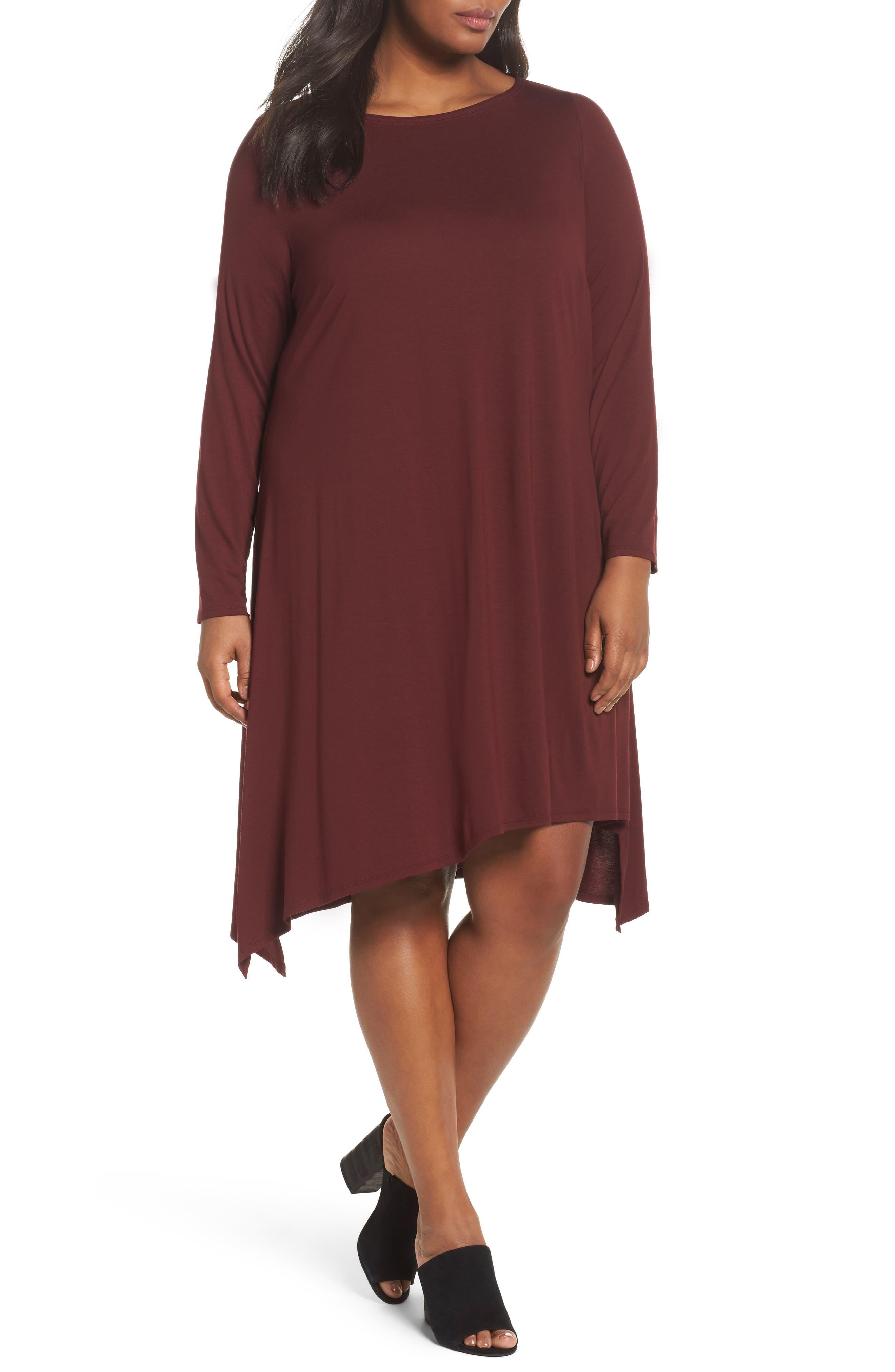 Jersey Tunic Dress,                             Main thumbnail 4, color,