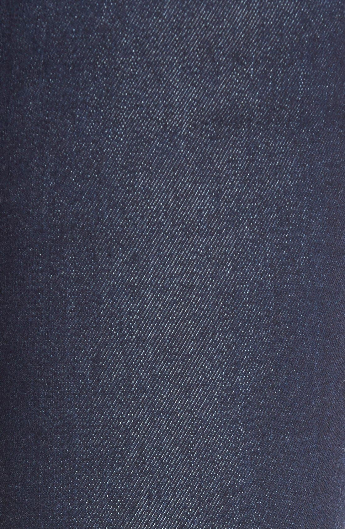 'Fleetwood' High Rise Flare Jeans,                             Alternate thumbnail 5, color,                             OZONE RINSE