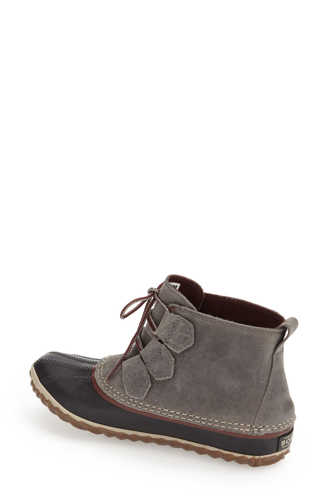 'Out N About' Leather Boot,                             Alternate thumbnail 17, color,