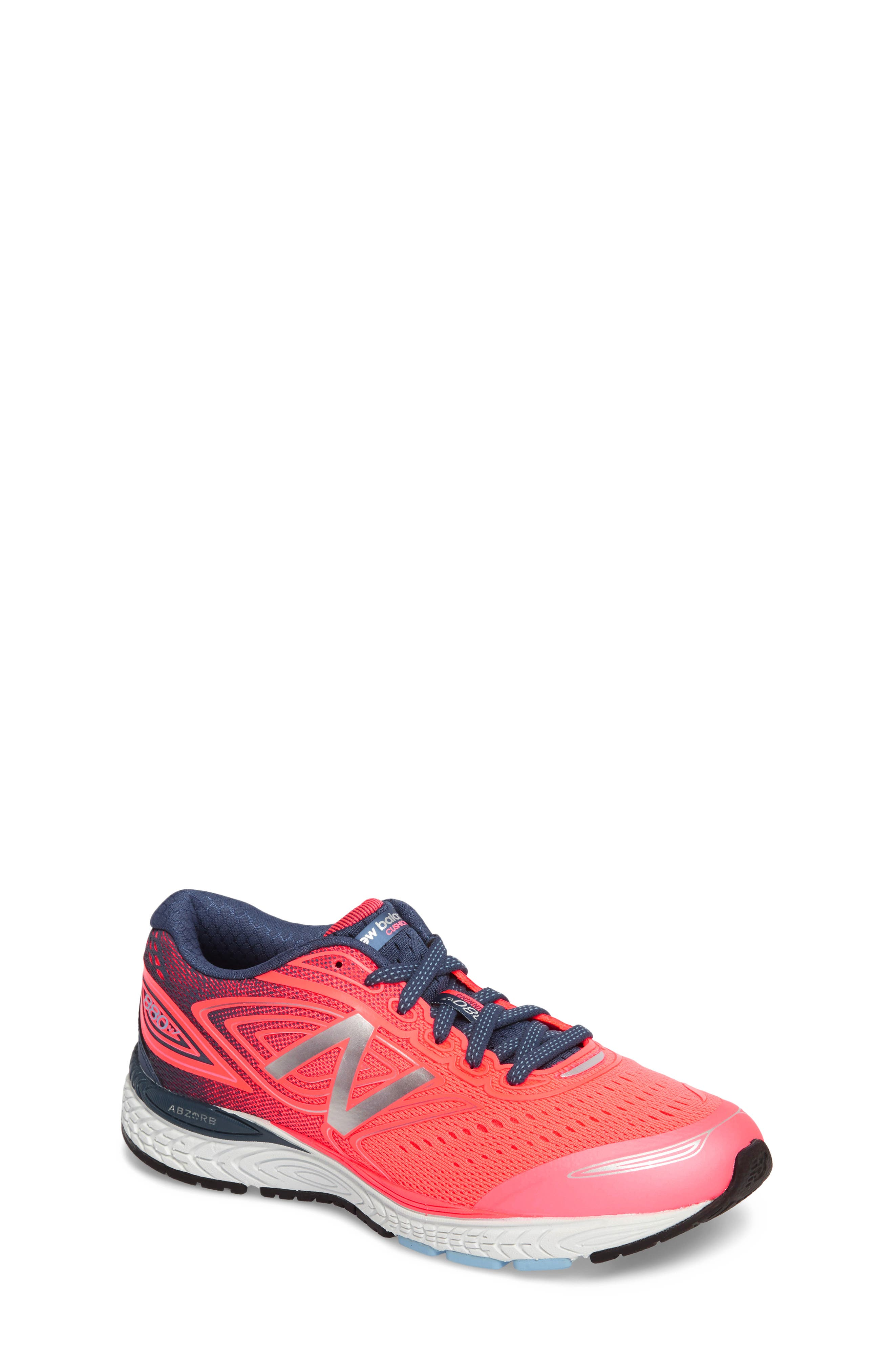 880v7 Sneaker,                             Main thumbnail 1, color,                             GUAVA