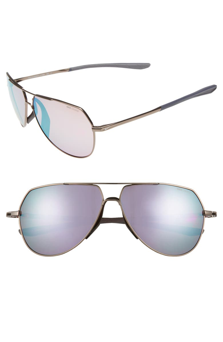 359d9995eee Nike Outrider E 62mm Oversize Aviator Sunglasses