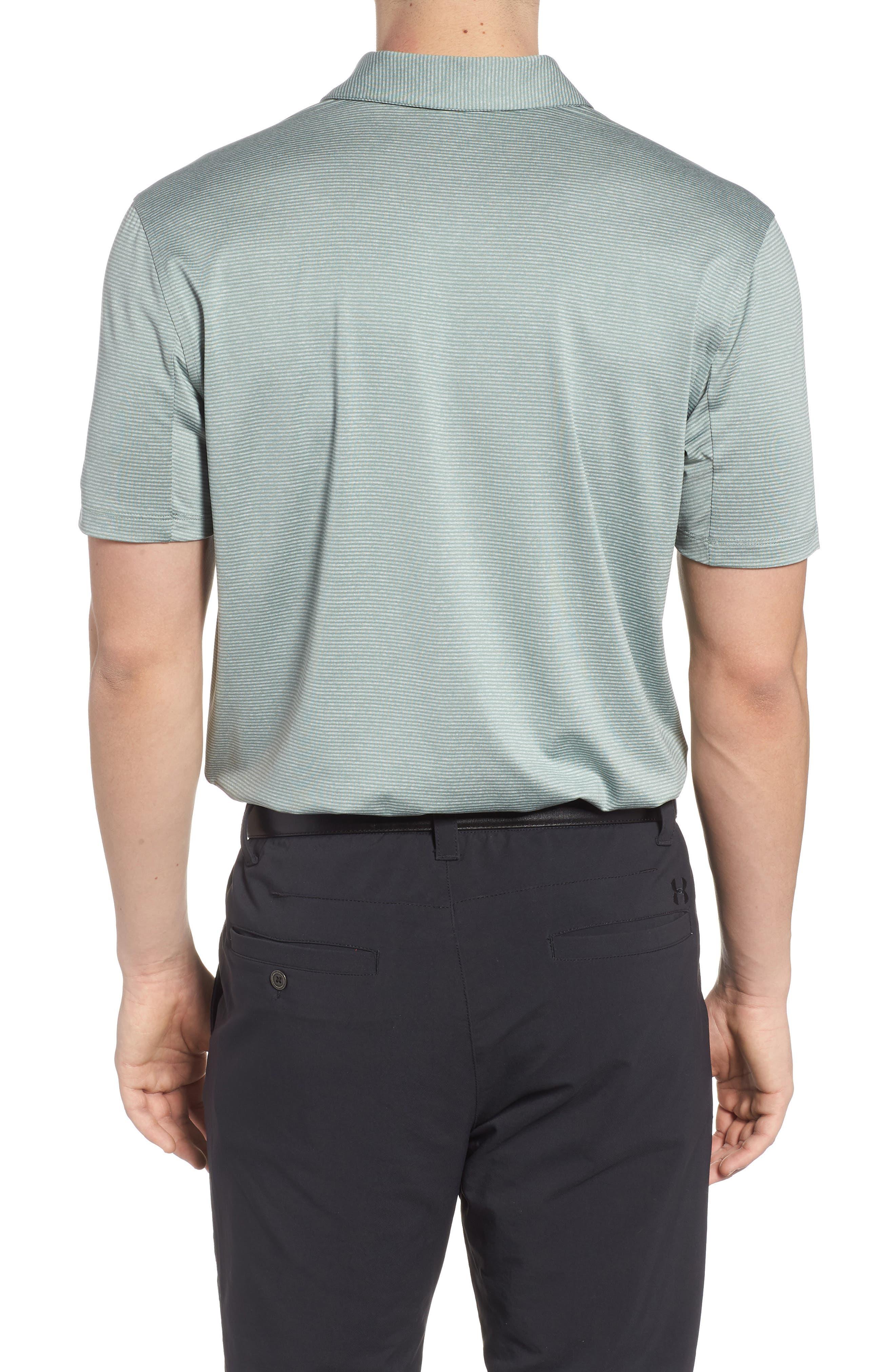 Dry Polo Shirt,                             Alternate thumbnail 2, color,                             CLAY GREEN/ BLACK
