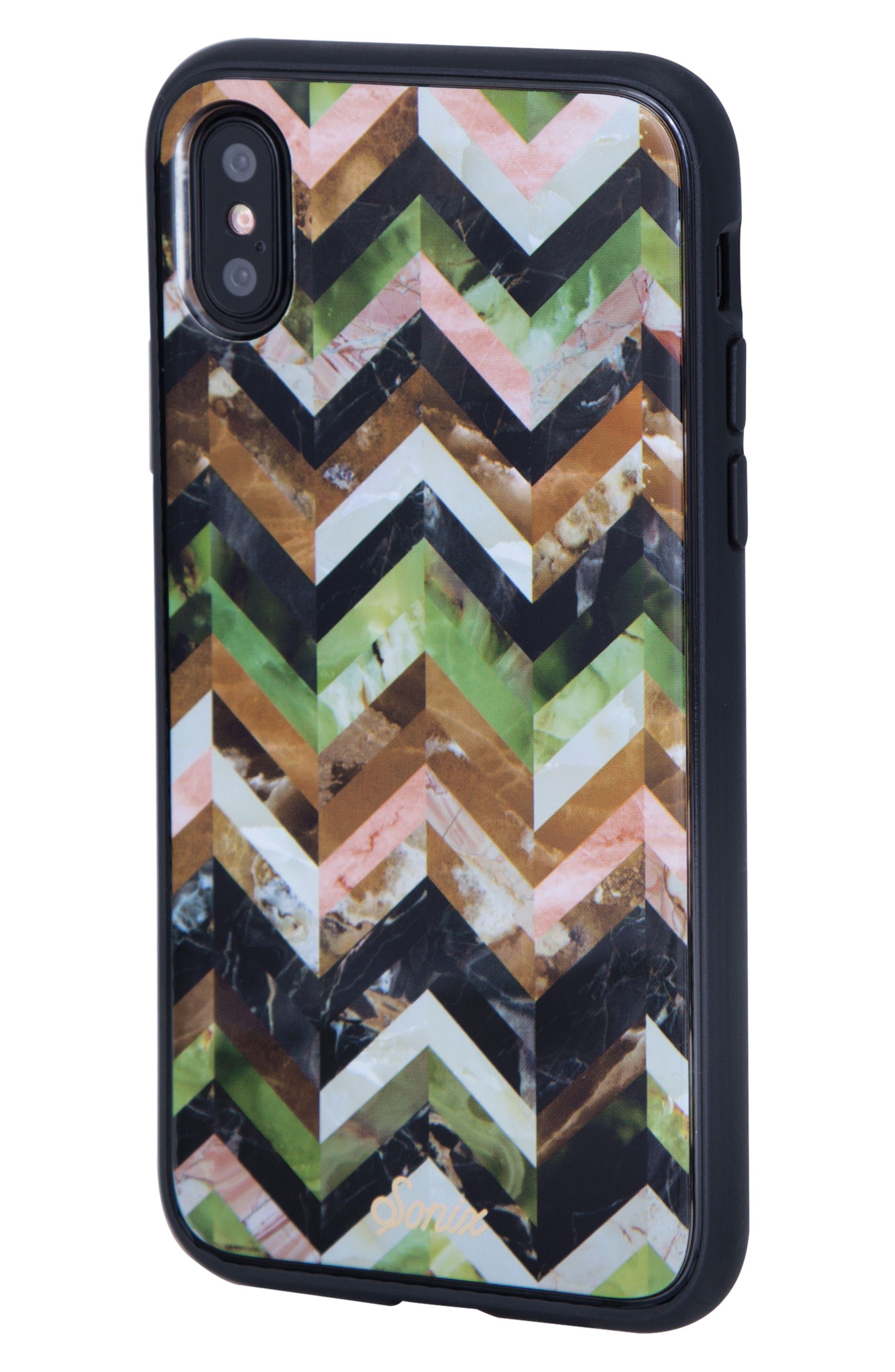 Desert Tile iPhone X & Xs Case,                             Alternate thumbnail 2, color,                             200