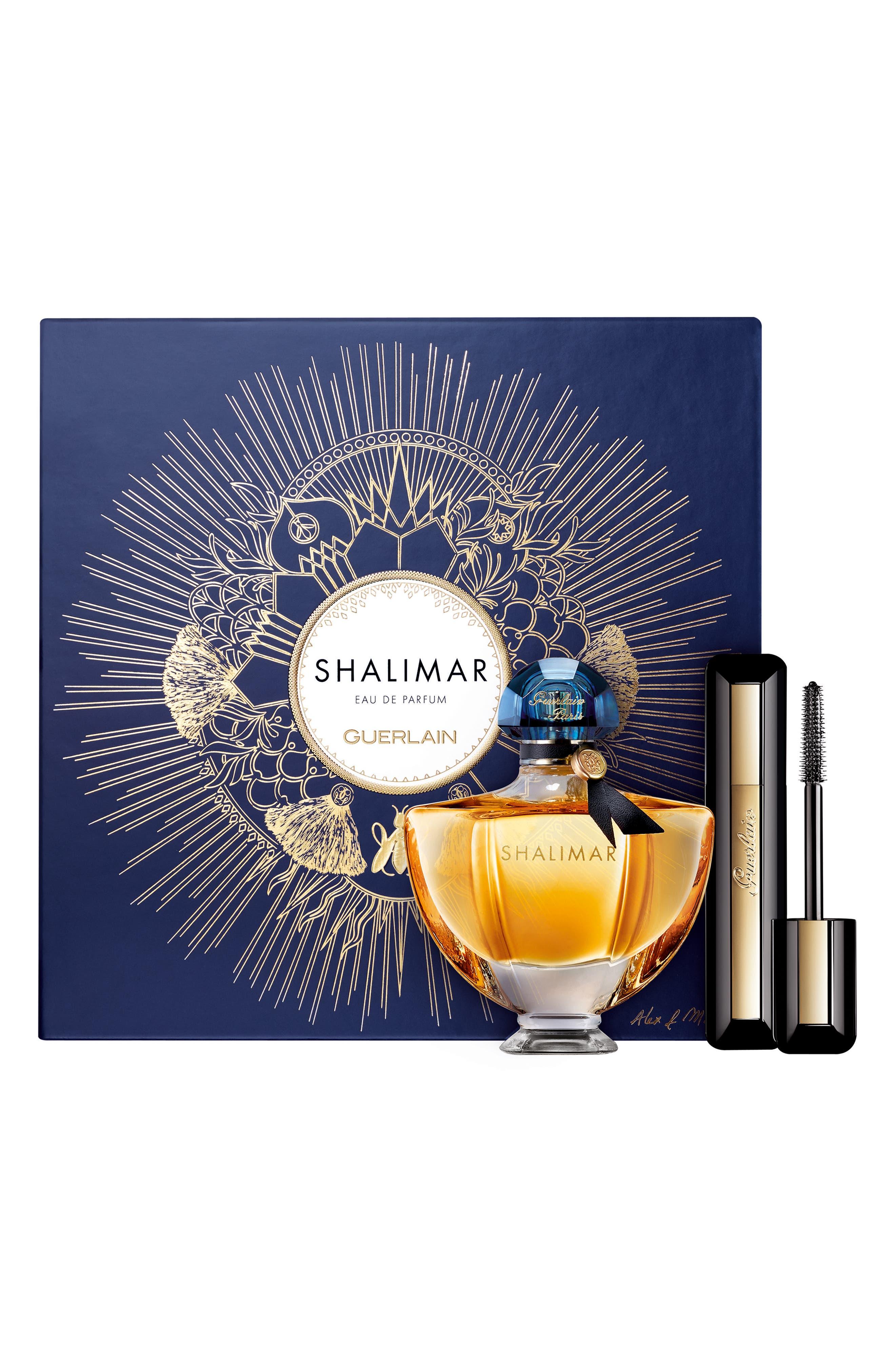 Alex & Marine Shalimar Eau de Parfum & Mascara Set,                             Main thumbnail 1, color,                             000