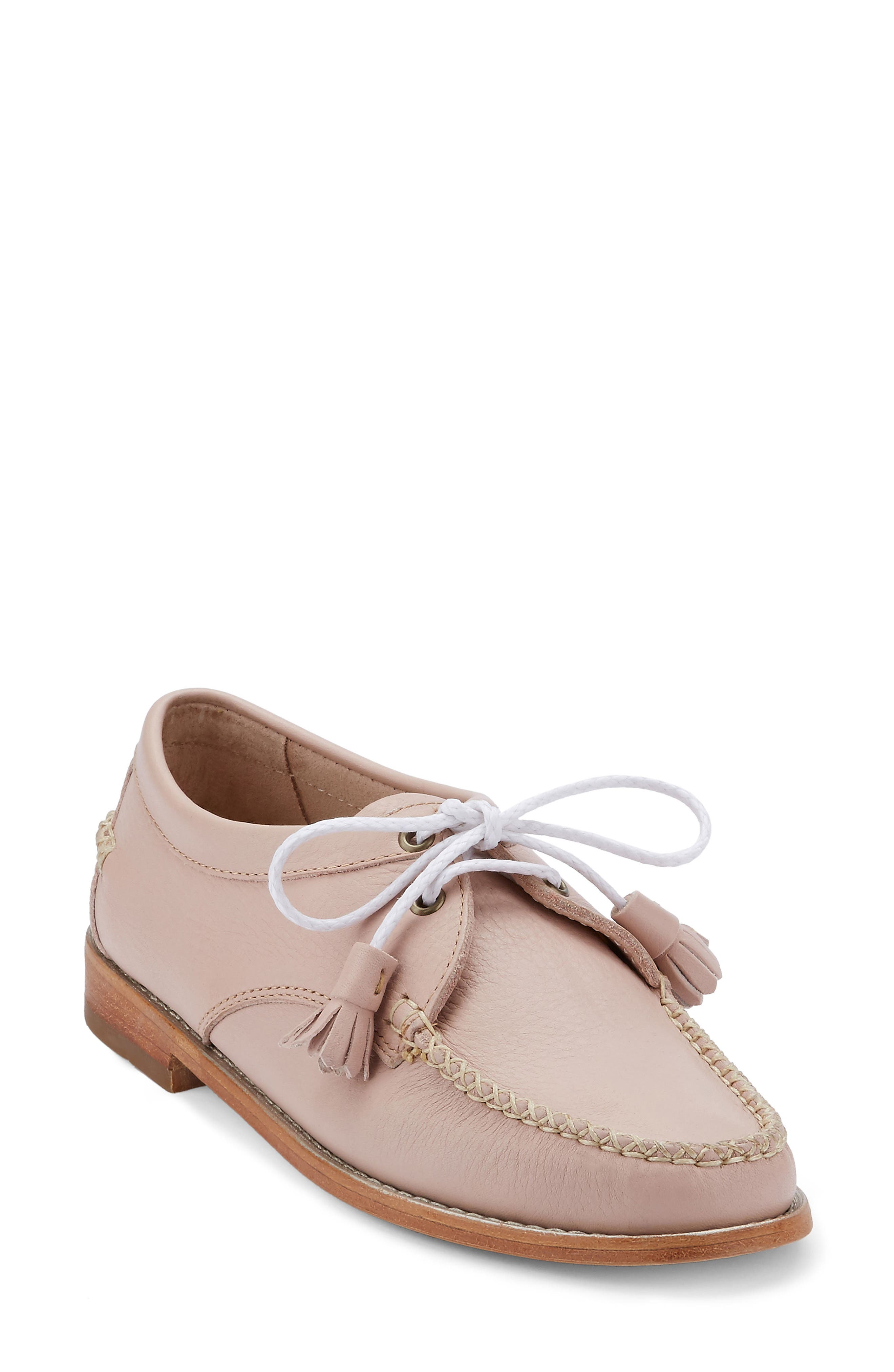 'Winnie' Leather Oxford,                             Main thumbnail 9, color,