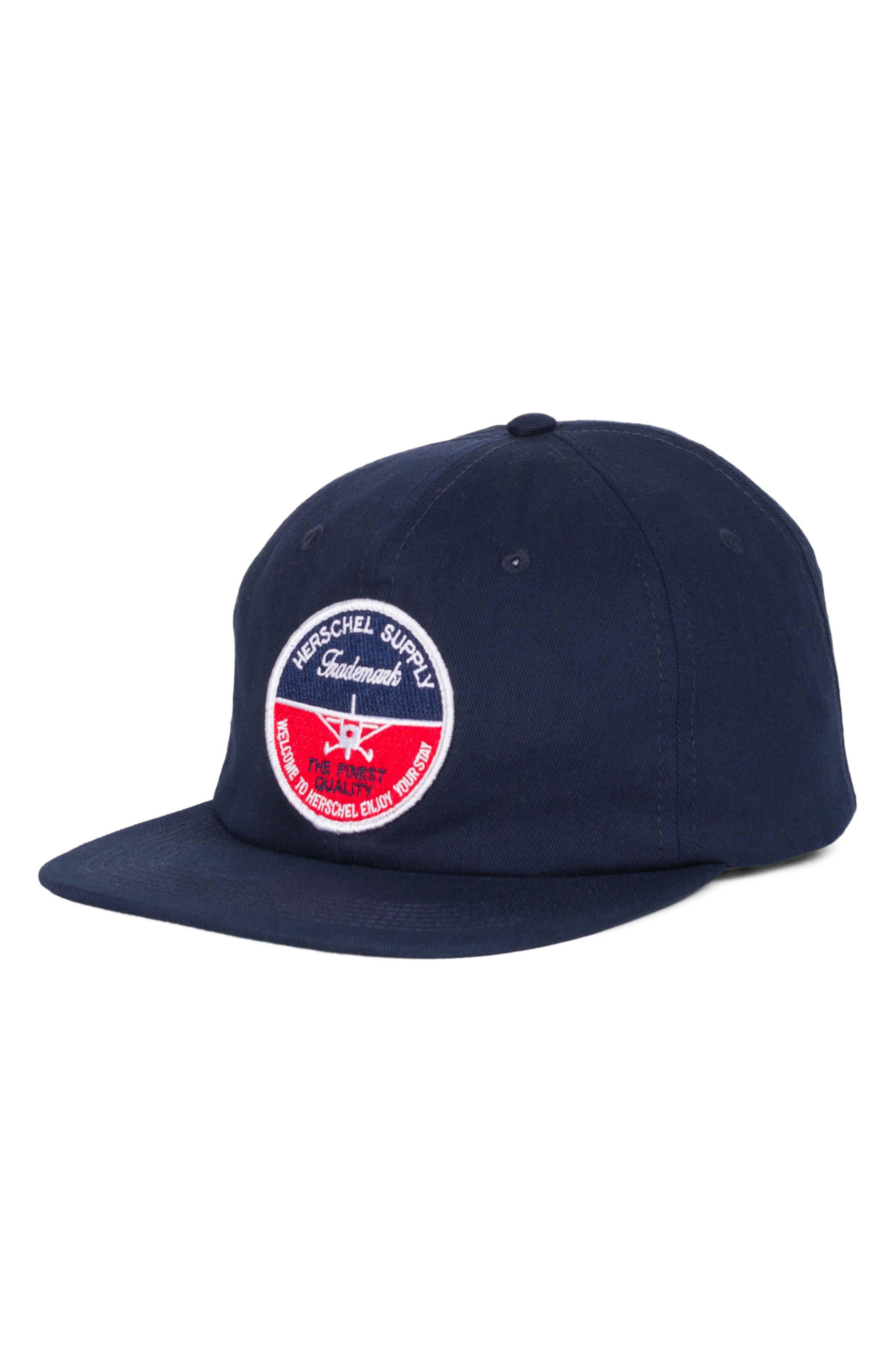 172 Baseball Cap,                             Main thumbnail 1, color,                             NAVY