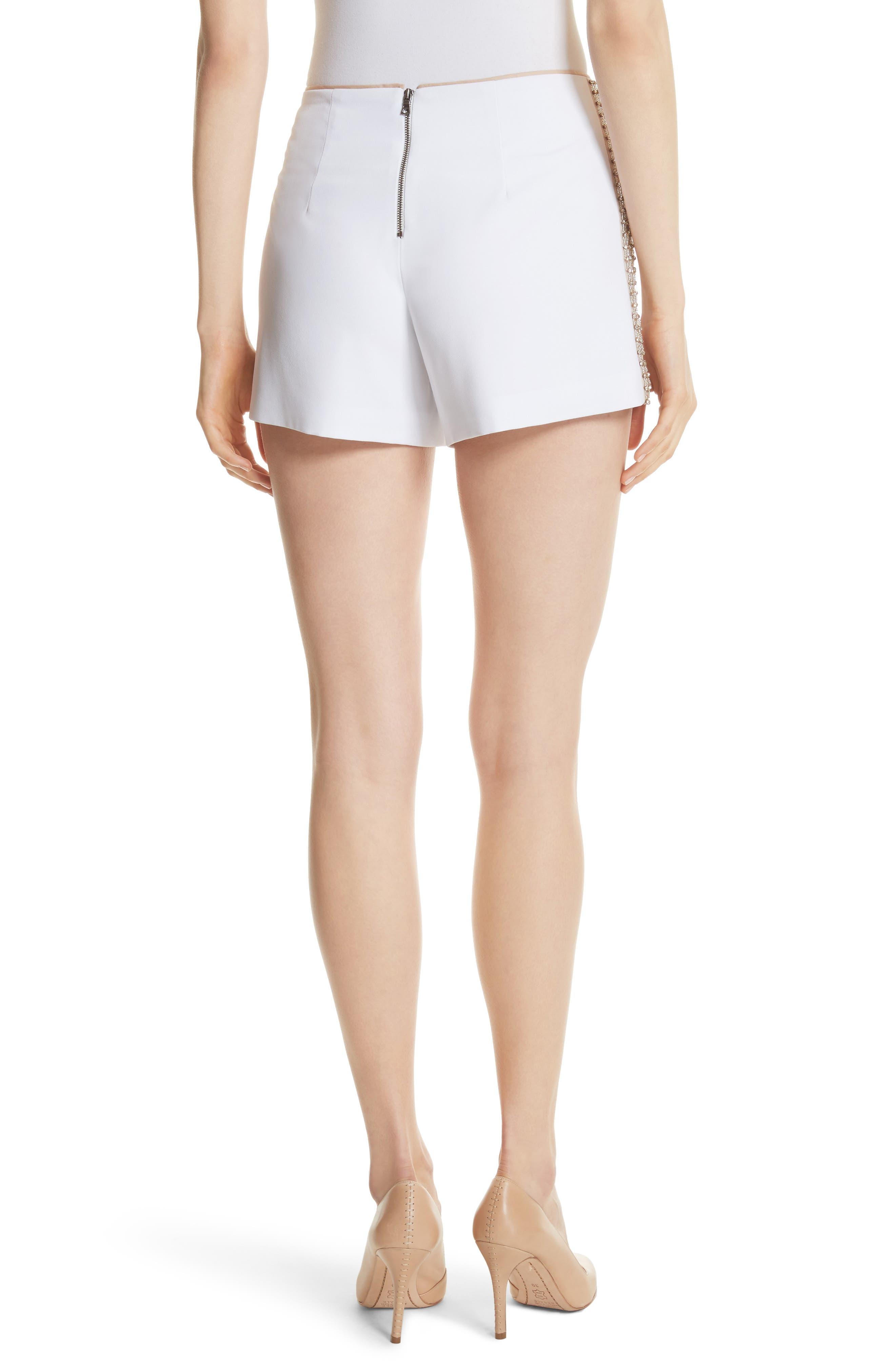 Sherri Embellished Shorts,                             Alternate thumbnail 2, color,                             100