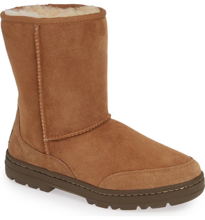 Check Out UGG Ultra Revival Genuine Shearling Short Boot (Women) Reviews