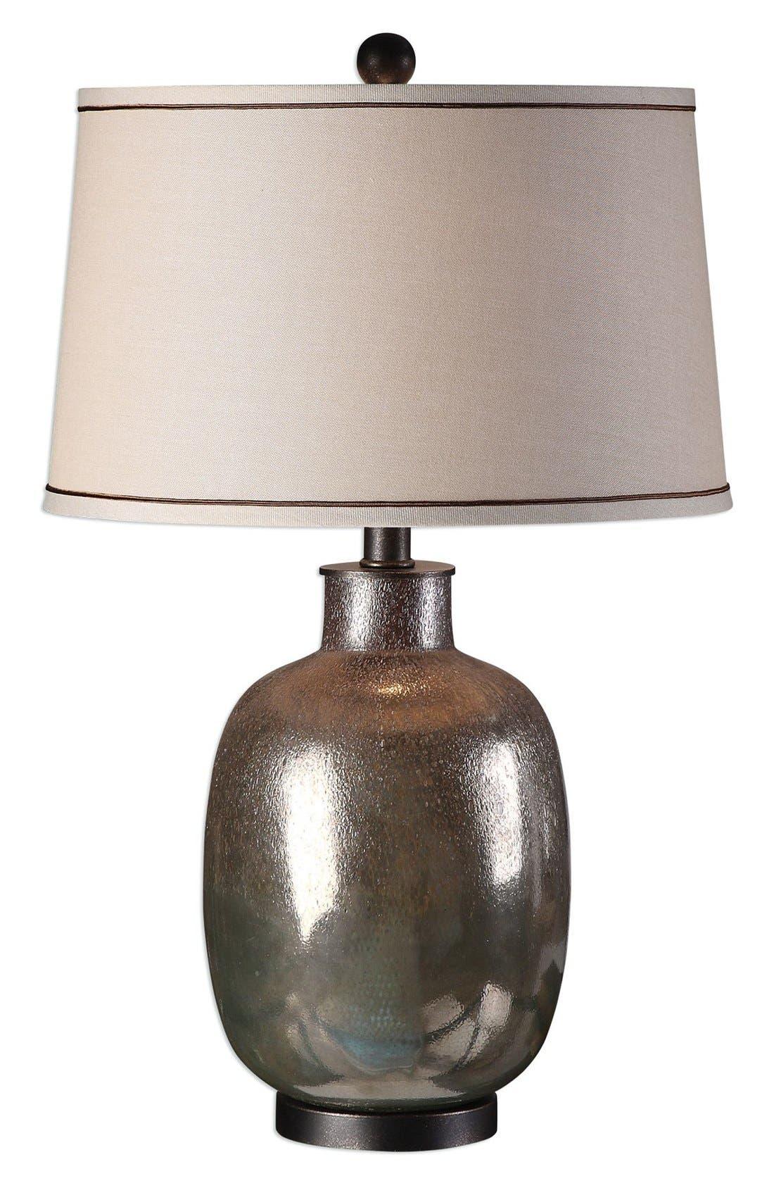 Glazed Glass Table Lamp,                             Main thumbnail 1, color,                             020