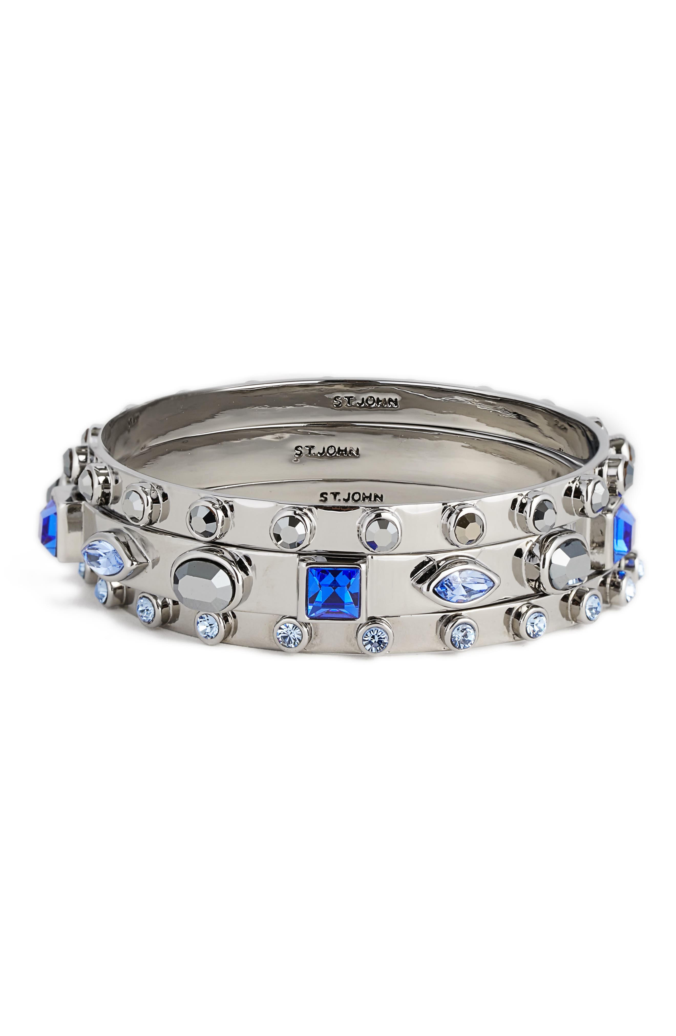 Swarovski Crystal Bangles,                         Main,                         color,