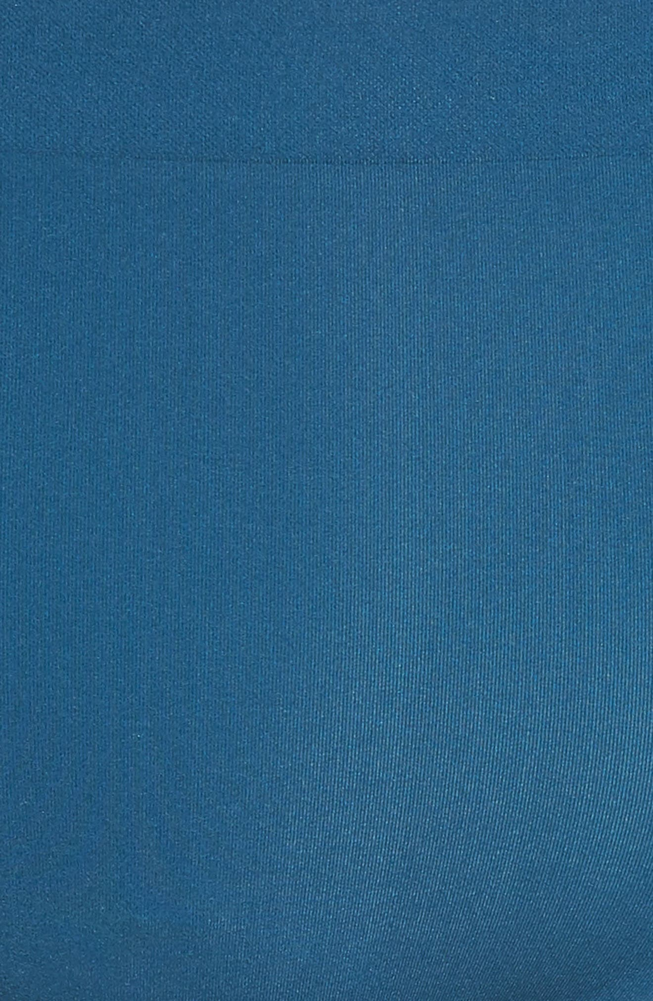 'Skinsense' Seamless Briefs,                             Alternate thumbnail 5, color,                             MAJOLICA BLUE