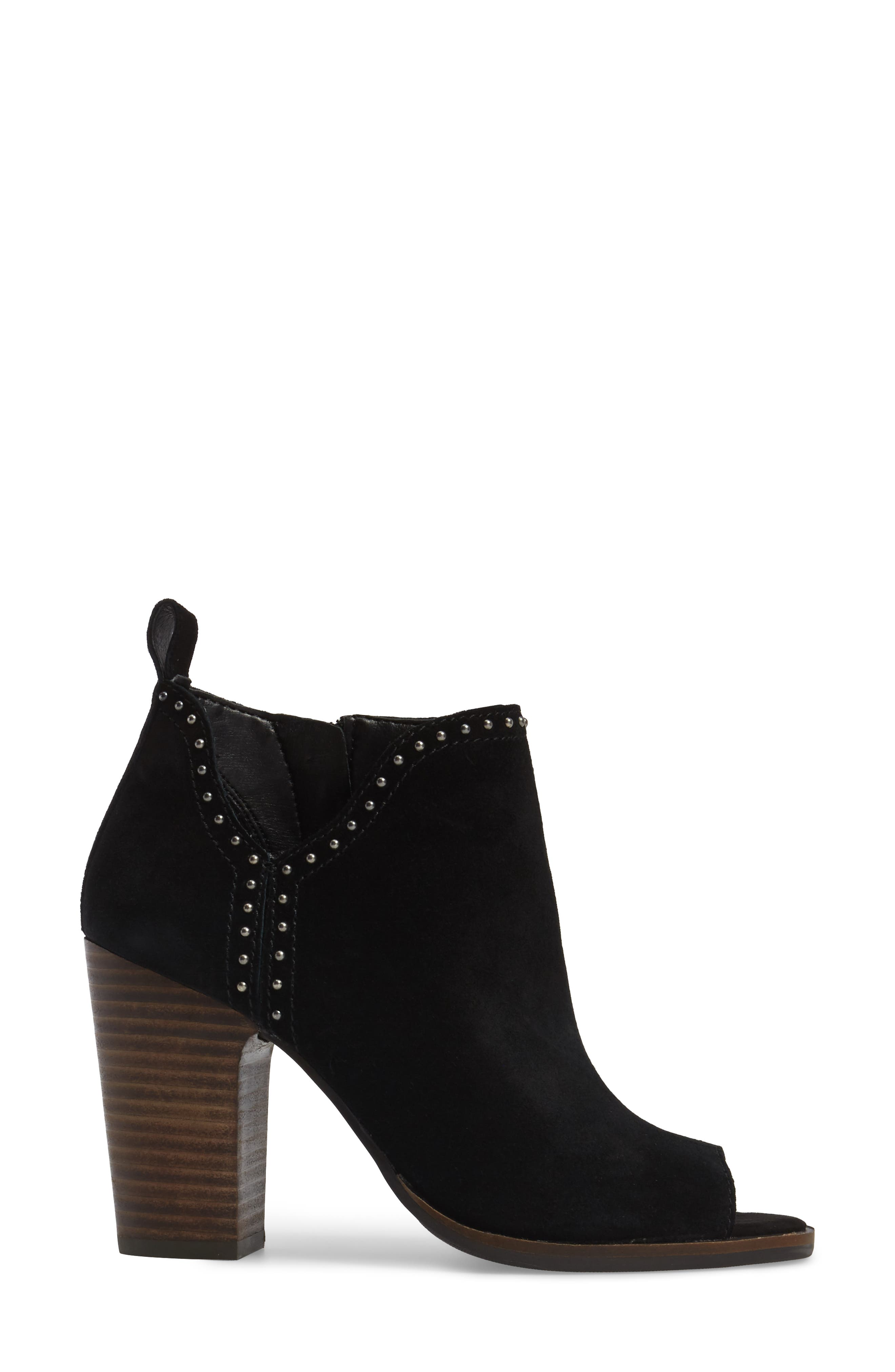 Lotisha Studded Open Toe Bootie,                             Alternate thumbnail 9, color,