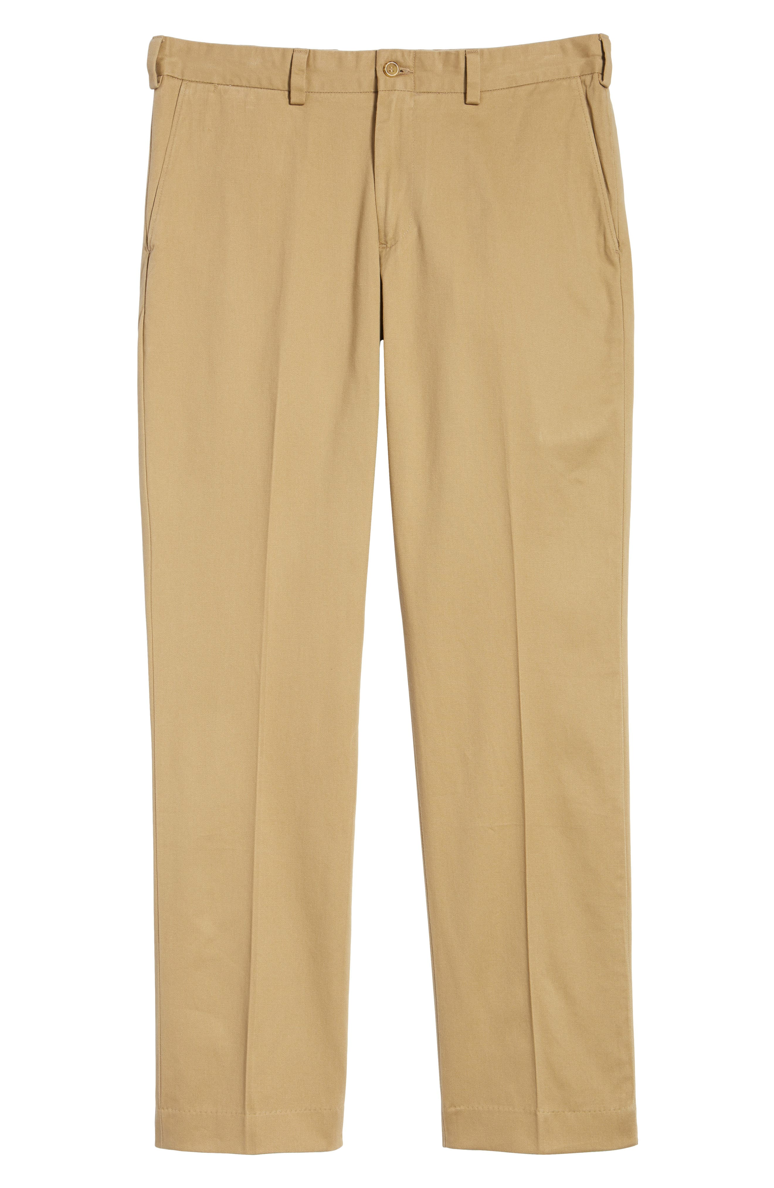 M3 Straight Fit Vintage Twill Flat Front Pants,                             Alternate thumbnail 6, color,                             210