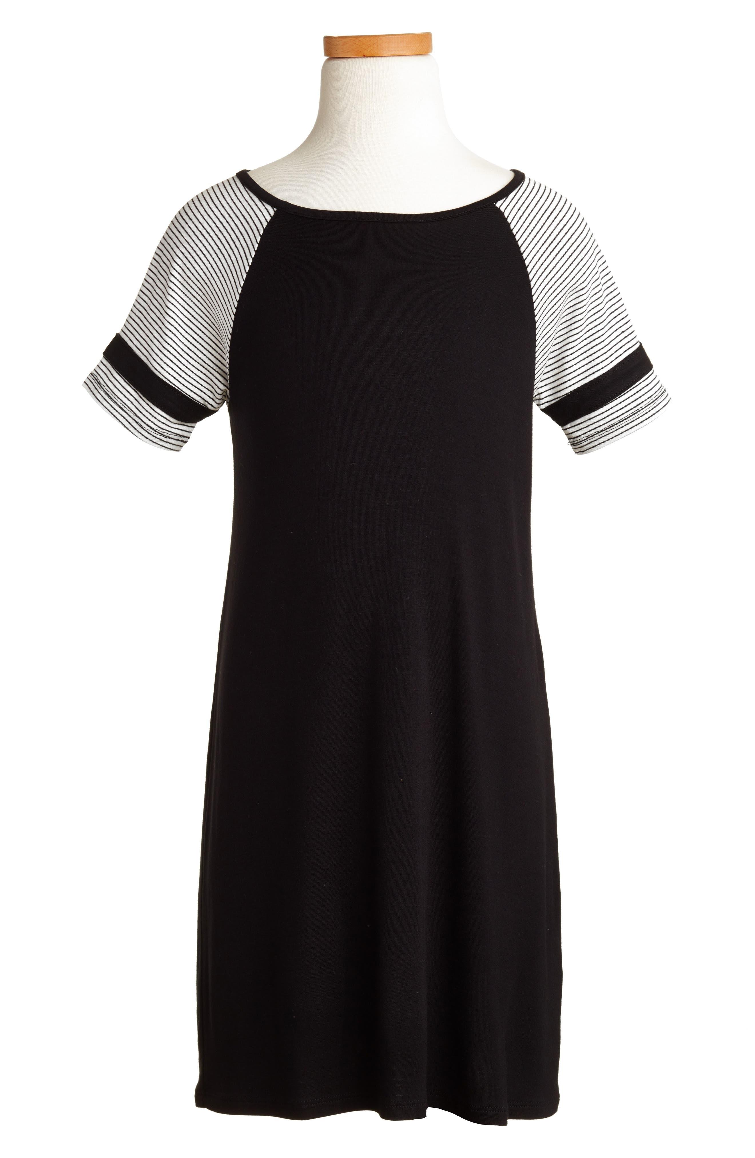 Baseball Dress,                         Main,                         color, 001