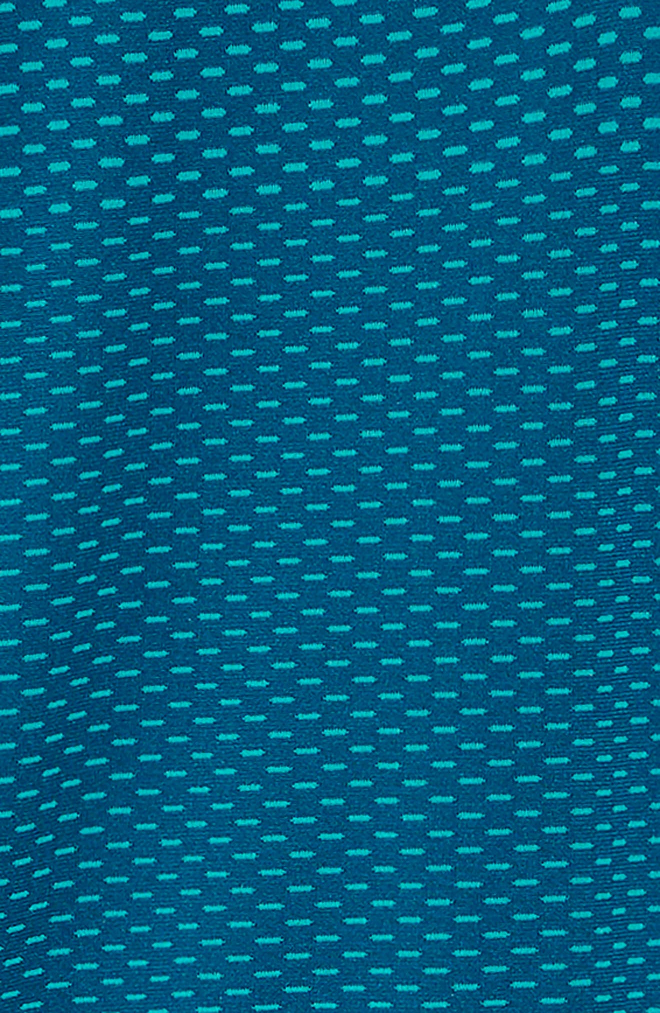 Seamless HeatGear<sup>®</sup> Quarter Zip Pullover,                             Alternate thumbnail 2, color,                             TECHNO TEAL/ TECHNO TEAL