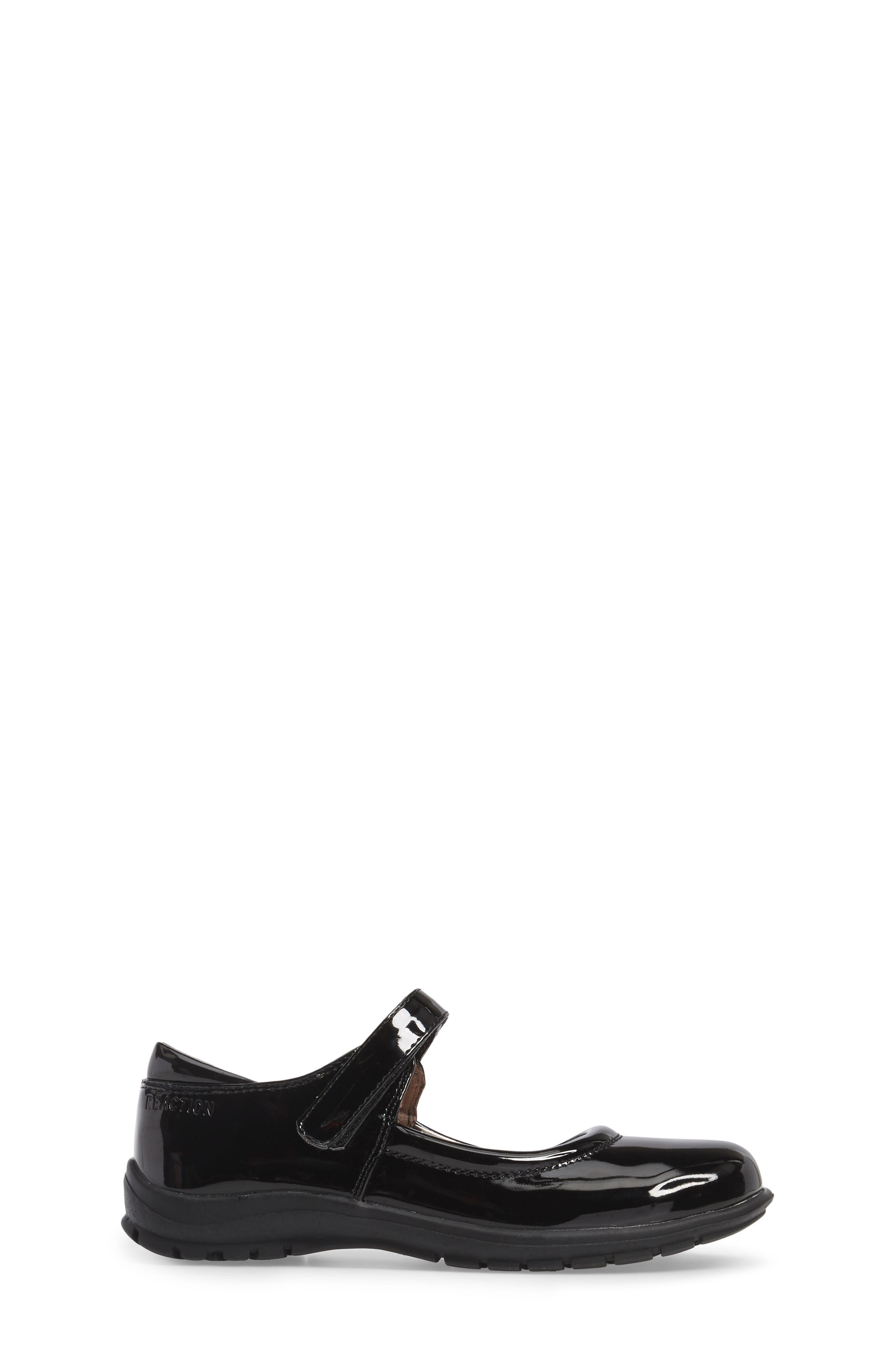 Dolly School Mary Jane,                             Alternate thumbnail 3, color,                             BLACK FAUX PATENT