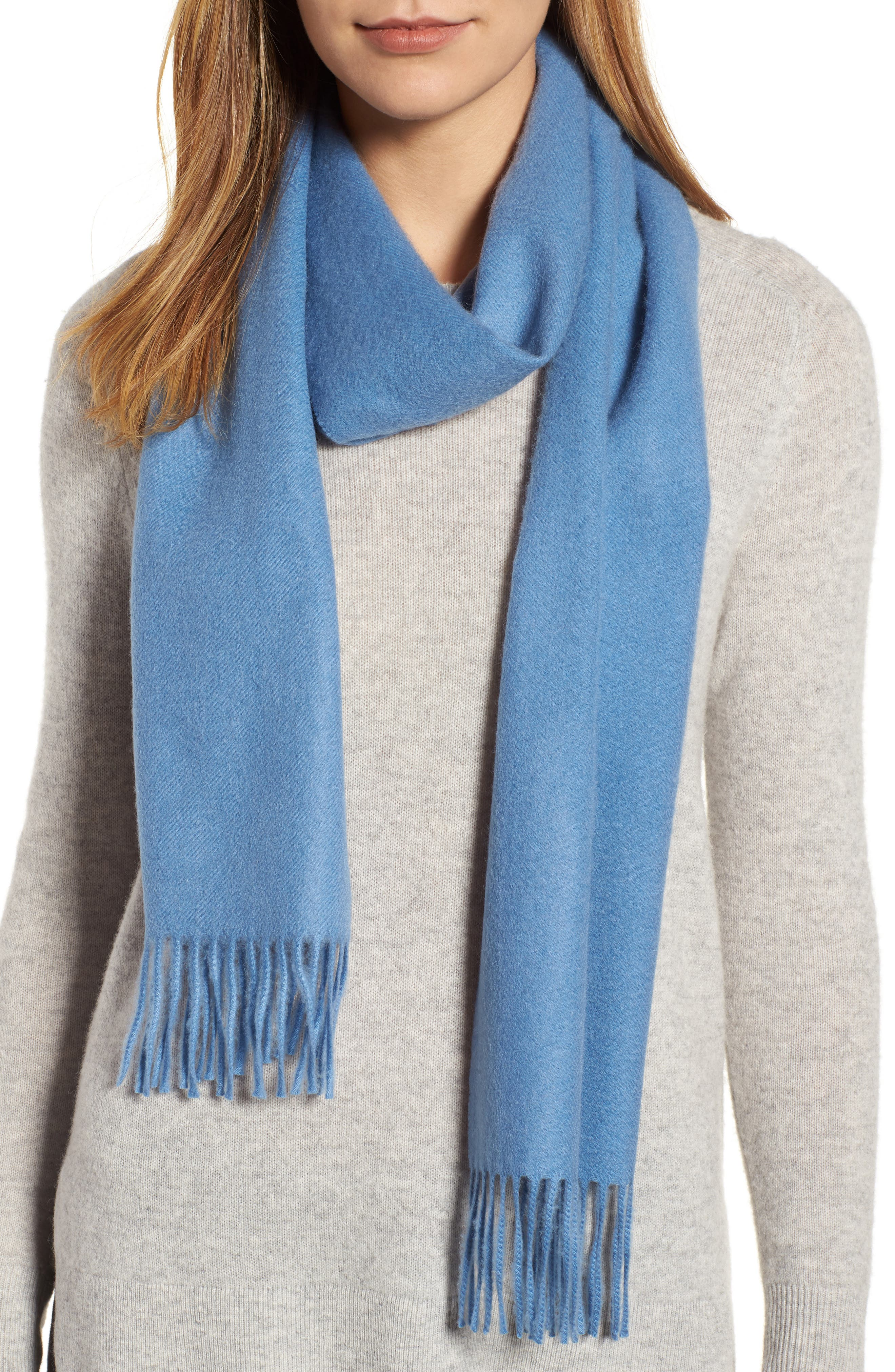 Solid Woven Cashmere Scarf,                             Alternate thumbnail 28, color,