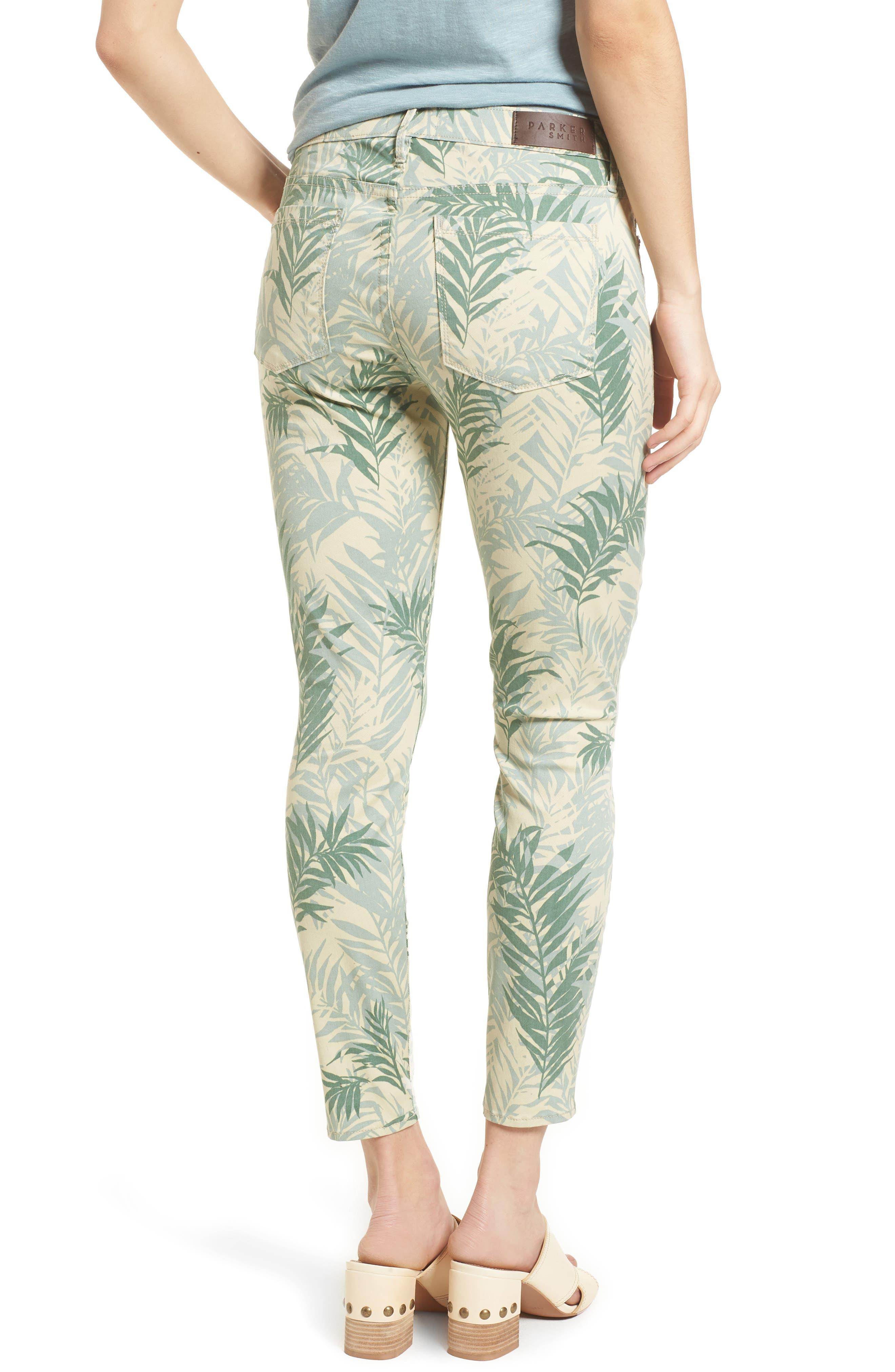 Ava Crop Skinny Jeans,                             Alternate thumbnail 4, color,